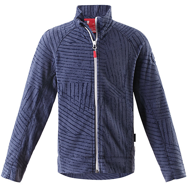 Куртка Poiju флисовая для мальчика ReimaОдежда<br>Характеристики товара:<br><br>• цвет: синий<br>• состав: 100% полиэстер<br>• теплый, легкий и быстросохнущий микрофлис<br>• молния во всю длину со вставкой для защиты подбородка<br>• приятная на ощупь ткань<br>• два боковых кармана<br>• комфортная посадка<br>• с отделкой горячим тиснением<br>• страна производства: Китай<br>• страна бренда: Финляндия<br>• коллекция: весна-лето 2017<br><br>Одежда для детей может быть модной и комфортной одновременно! Удобная курточка поможет обеспечить ребенку комфорт и тепло. Изделие сшито из микрофлиса - мягкого и теплого материала, приятного на ощупь. Модель стильно смотрится, отлично сочетается с различным низом. Стильный дизайн разрабатывался специально для детей.<br><br>Одежда и обувь от финского бренда Reima пользуется популярностью во многих странах. Эти изделия стильные, качественные и удобные. Для производства продукции используются только безопасные, проверенные материалы и фурнитура. Порадуйте ребенка модными и красивыми вещами от Reima! <br><br>Куртку флисовую для мальчика от финского бренда Reima (Рейма) можно купить в нашем интернет-магазине.<br><br>Ширина мм: 356<br>Глубина мм: 10<br>Высота мм: 245<br>Вес г: 519<br>Цвет: синий<br>Возраст от месяцев: 72<br>Возраст до месяцев: 84<br>Пол: Мужской<br>Возраст: Детский<br>Размер: 140,158,152,122,146,134,128,116,110,104<br>SKU: 5267431
