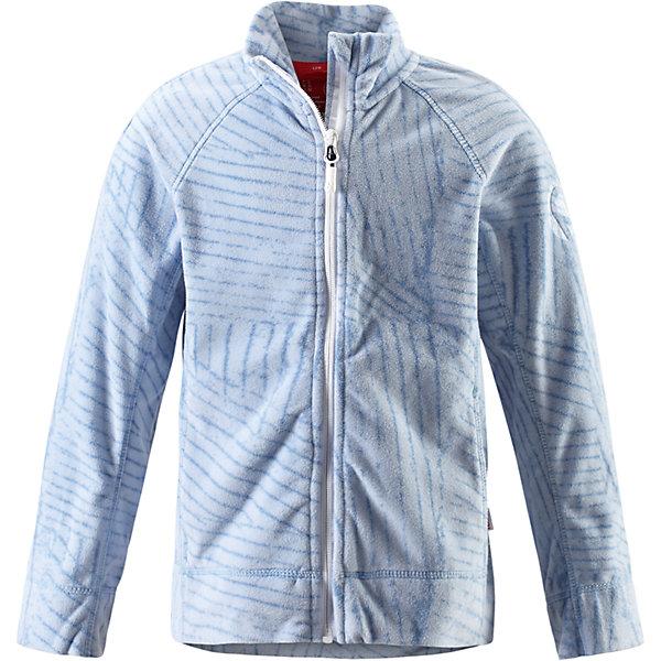 Куртка Piiru флисовая для девочки ReimaФлис и термобелье<br>Характеристики товара:<br><br>• цвет: голубой<br>• состав: 100% полиэстер<br>• теплый, легкий и быстросохнущий микрофлис<br>• молния во всю длину со вставкой для защиты подбородка<br>• приятная на ощупь ткань<br>• два боковых кармана<br>• комфортная посадка<br>• с отделкой горячим тиснением<br>• страна производства: Китай<br>• страна бренда: Финляндия<br>• коллекция: весна-лето 2017<br><br>Одежда для детей может быть модной и комфортной одновременно! Удобная курточка поможет обеспечить ребенку комфорт и тепло. Изделие сшито из микрофлиса - мягкого и теплого материала, приятного на ощупь. Модель стильно смотрится, отлично сочетается с различным низом. Стильный дизайн разрабатывался специально для детей.<br><br>Одежда и обувь от финского бренда Reima пользуется популярностью во многих странах. Эти изделия стильные, качественные и удобные. Для производства продукции используются только безопасные, проверенные материалы и фурнитура. Порадуйте ребенка модными и красивыми вещами от Reima! <br><br>Куртку флисовую для девочки от финского бренда Reima (Рейма) можно купить в нашем интернет-магазине.<br><br>Ширина мм: 356<br>Глубина мм: 10<br>Высота мм: 245<br>Вес г: 519<br>Цвет: синий<br>Возраст от месяцев: 60<br>Возраст до месяцев: 72<br>Пол: Женский<br>Возраст: Детский<br>Размер: 140,128,122,116,134,110,158,152,146<br>SKU: 5267441