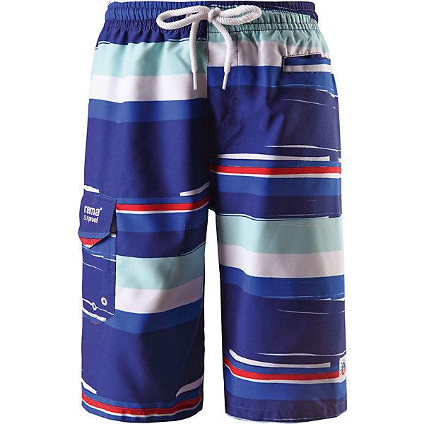Шорты купальные Sea для мальчика ReimaШорты, бриджи, капри<br>Характеристики товара:<br><br>• цвет: синий принт<br>• состав: 100% полиэстер<br>• потайной карман для датчика ReimaGO®<br>• фактор защиты от ультрафиолета: 50+<br>• карман спереди<br>• регулируемый пояс со шнурком<br>• быстросохнущий материал<br>• комфортная посадка<br>• страна производства: Китай<br>• страна бренда: Финляндия<br>• коллекция: весна-лето 2017<br><br>Одежда для купания может быть модной и комфортной одновременно! Удобные плавательные шорты помогут обеспечить ребенку комфорт - они не стесняют движения и обеспечивают защиту от ультрафиолета. Плавательные шорты сшиты из материала, который быстро сохнет. Модель стильно смотрится, отлично сочетается с различными головными уборами и обувью. Стильный дизайн разрабатывался специально для детей.<br><br>Одежда и обувь от финского бренда Reima пользуется популярностью во многих странах. Эти изделия стильные, качественные и удобные. Для производства продукции используются только безопасные, проверенные материалы и фурнитура. Порадуйте ребенка модными и красивыми вещами от Reima! <br><br>Шорты купальные для мальчика от финского бренда Reima (Рейма) можно купить в нашем интернет-магазине.<br>Ширина мм: 183; Глубина мм: 60; Высота мм: 135; Вес г: 119; Цвет: синий; Возраст от месяцев: 72; Возраст до месяцев: 84; Пол: Мужской; Возраст: Детский; Размер: 122,104,146,140,134,116,128,110; SKU: 5267521;