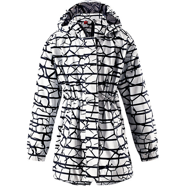 Купить Куртка для девочки Reimatec® Reima, Китай, белый, 140, 152, 164, 158, 146, 134, 128, 122, 116, Женский