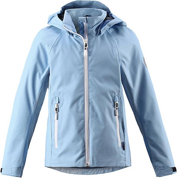 Куртка Suvi для девочки Reimatec® ReimaОдежда<br>Характеристики товара:<br><br>• цвет: голубой<br>• состав: 100% полиэстер, полиуретановое покрытие<br>• температурный режим: от +10°до +20°С<br>• водонепроницаемость: 15000 мм<br>• воздухопроницаемость: 5000 мм<br>• износостойкость: 40000 (тест Мартиндейла)<br>• без утеплителя<br>• подкладка: mesh-сетка<br>• швы проклеены и водонепроницаемы<br>• водо- и ветронепроницаемый «дышащий» материал<br>• регулируемый подол<br>• регулируемые манжеты<br>• безопасный съёмный и регулируемый капюшон<br>• усовершенствованная молния - больше не застрянет!<br>• контрастные цветные застежки-молнии<br>• карманы на молнии<br>• комфортная посадка<br>• страна производства: Китай<br>• страна бренда: Финляндия<br>• коллекция: весна-лето 2017<br><br>Верхняя одежда для детей может быть модной и комфортной одновременно! Демисезонная куртка поможет обеспечить ребенку комфорт и тепло. Она отлично смотрится с различной одеждой и обувью. Изделие удобно сидит и модно выглядит. Материал - прочный, хорошо подходящий для межсезонья. Стильный дизайн разрабатывался специально для детей.<br><br>Одежда и обувь от финского бренда Reima пользуется популярностью во многих странах. Эти изделия стильные, качественные и удобные. Для производства продукции используются только безопасные, проверенные материалы и фурнитура. Порадуйте ребенка модными и красивыми вещами от Reima! <br><br>Куртку для девочки Reimatec® от финского бренда Reima (Рейма) можно купить в нашем интернет-магазине.<br>Ширина мм: 356; Глубина мм: 10; Высота мм: 245; Вес г: 519; Цвет: синий; Возраст от месяцев: 156; Возраст до месяцев: 168; Пол: Женский; Возраст: Детский; Размер: 146,104,140,134,122,116,152,110,128,158,164; SKU: 5267676;