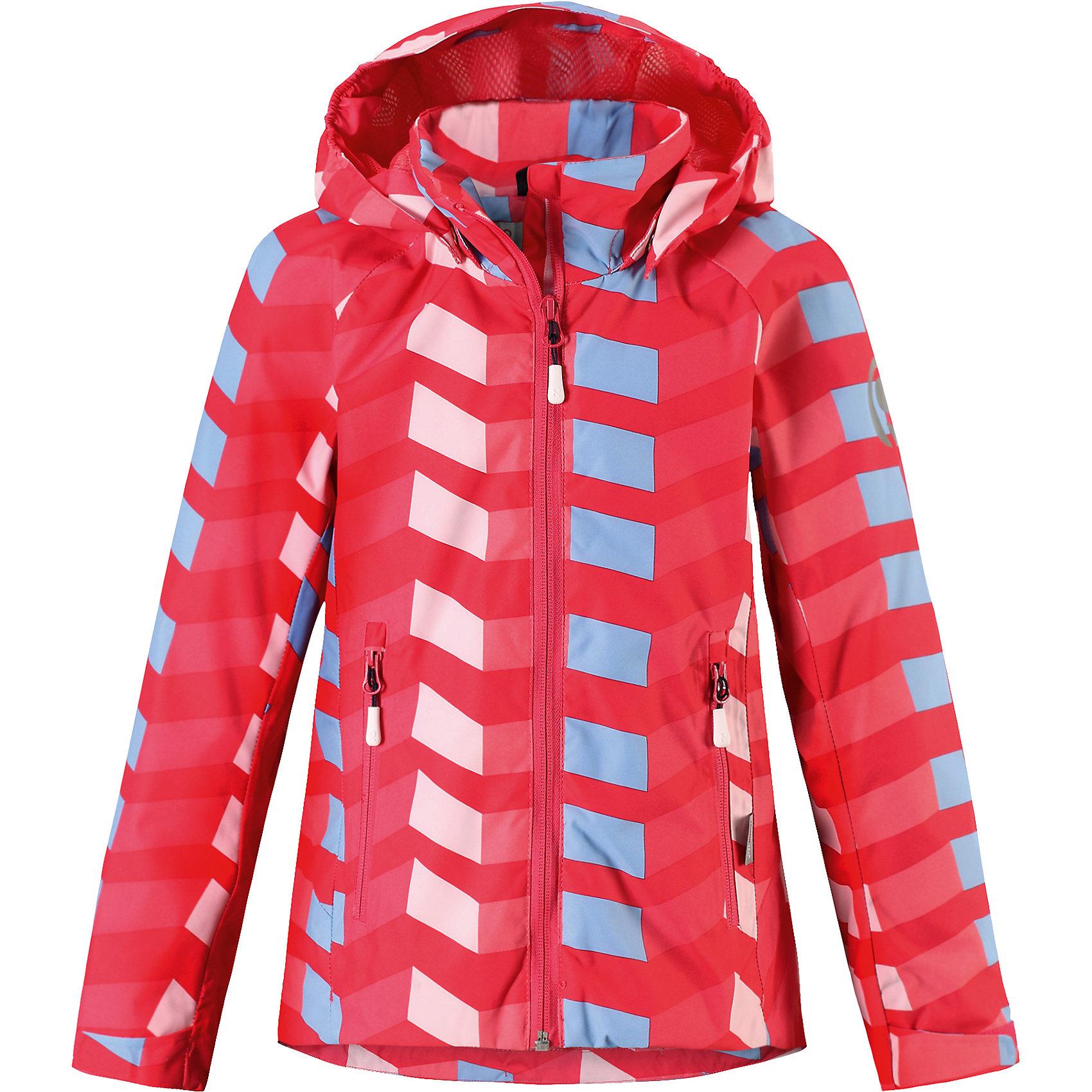Куртка Suvi для девочки Reimatec® ReimaОдежда<br>Характеристики товара:<br><br>• цвет: розовый<br>• состав: 100% полиэстер, полиуретановое покрытие<br>• температурный режим: от +10°до +20°С<br>• водонепроницаемость: 15000 мм<br>• воздухопроницаемость: 5000 мм<br>• износостойкость: 40000 (тест Мартиндейла)<br>• без утеплителя<br>• подкладка: mesh-сетка<br>• швы проклеены и водонепроницаемы<br>• водо- и ветронепроницаемый «дышащий» материал<br>• регулируемый подол<br>• регулируемые манжеты<br>• безопасный съёмный и регулируемый капюшон<br>• усовершенствованная молния - больше не застрянет!<br>• контрастные цветные застежки-молнии<br>• карманы на молнии<br>• комфортная посадка<br>• страна производства: Китай<br>• страна бренда: Финляндия<br>• коллекция: весна-лето 2017<br><br>Верхняя одежда для детей может быть модной и комфортной одновременно! Демисезонная куртка поможет обеспечить ребенку комфорт и тепло. Она отлично смотрится с различной одеждой и обувью. Изделие удобно сидит и модно выглядит. Материал - прочный, хорошо подходящий для межсезонья. Стильный дизайн разрабатывался специально для детей.<br><br>Одежда и обувь от финского бренда Reima пользуется популярностью во многих странах. Эти изделия стильные, качественные и удобные. Для производства продукции используются только безопасные, проверенные материалы и фурнитура. Порадуйте ребенка модными и красивыми вещами от Reima! <br><br>Куртку для девочки Reimatec® от финского бренда Reima (Рейма) можно купить в нашем интернет-магазине.<br><br>Ширина мм: 356<br>Глубина мм: 10<br>Высота мм: 245<br>Вес г: 519<br>Цвет: розовый<br>Возраст от месяцев: 156<br>Возраст до месяцев: 168<br>Пол: Женский<br>Возраст: Детский<br>Размер: 164,104,122,158,146,140,152,134,110,116,128<br>SKU: 5267688