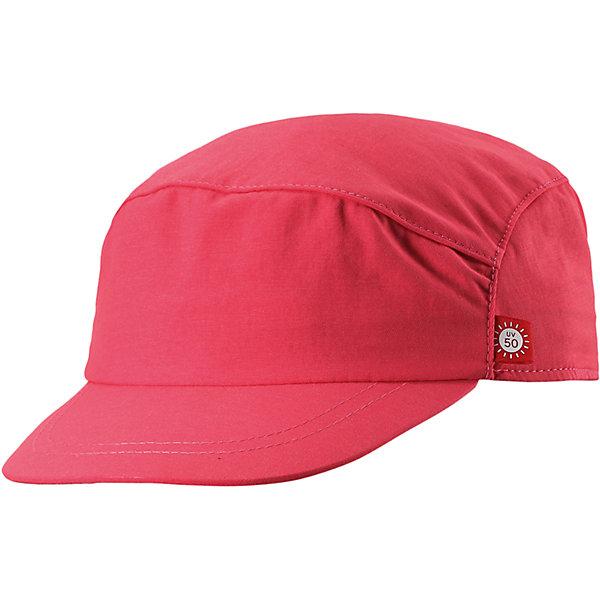 Кепка Virta для девчоки ReimaШапки и шарфы<br>Характеристики товара:<br><br>• цвет: розовый<br>• состав: 92% полиамид, 8% полиэстер<br>• фактор защиты от ультрафиолета: 50+<br>• дышащий материал с охлаждающим эффектом<br>• ширина обхвата регулируется эластичной резинкой сзади<br>• стильный защитный козырек<br>• облегченная модель без подкладки<br>• декоративный логотип<br>• комфортная посадка<br>• страна производства: Китай<br>• страна бренда: Финляндия<br>• коллекция: весна-лето 2017<br><br>Детский головной убор может быть модным и удобным одновременно! Стильная кепка поможет обеспечить ребенку комфорт и дополнить наряд. Она отлично смотрится с различной одеждой. Кепка удобно сидит и аккуратно выглядит. Проста в уходе, долго служит. Стильный дизайн разрабатывался специально для детей. Отличная защита от солнца!<br><br>Одежда и обувь от финского бренда Reima пользуется популярностью во многих странах. Эти изделия стильные, качественные и удобные. Для производства продукции используются только безопасные, проверенные материалы и фурнитура. Порадуйте ребенка модными и красивыми вещами от Reima! <br><br>Кепку для мальчика от финского бренда Reima (Рейма) можно купить в нашем интернет-магазине.<br><br>Ширина мм: 89<br>Глубина мм: 117<br>Высота мм: 44<br>Вес г: 155<br>Цвет: розовый<br>Возраст от месяцев: 9<br>Возраст до месяцев: 18<br>Пол: Женский<br>Возраст: Детский<br>Размер: 48,56,54,52,50<br>SKU: 5267730