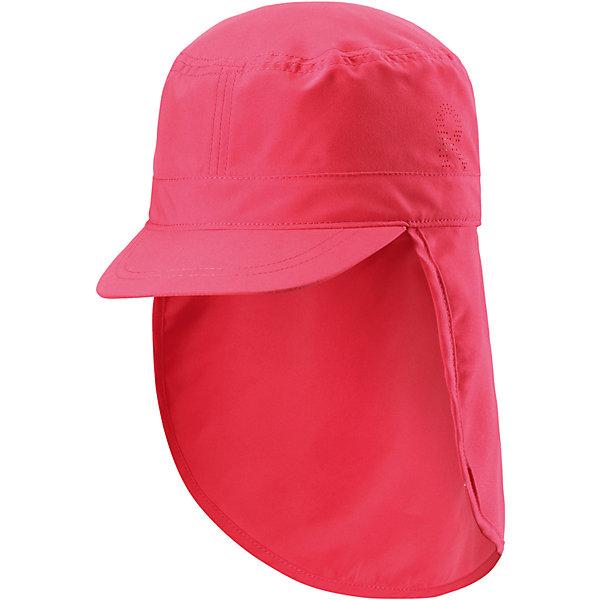 Панама для девочки ReimaШапки и шарфы<br>Характеристики товара:<br><br>• цвет: розовый<br>• состав: 100% полиэстер<br>• защитный козырек<br>• без подкладки<br>• удлиненная сзади<br>• декоративный логотип<br>• фактор защиты от ультрафиолета: 50+<br>• комфортная посадка<br>• страна производства: Китай<br>• страна бренда: Финляндия<br>• коллекция: весна-лето 2017<br><br>Детский головной убор может быть модным и удобным одновременно! Стильная панама поможет обеспечить ребенку комфорт и дополнить наряд. Она отлично смотрится с различной одеждой. Панама удобно сидит и аккуратно выглядит. Проста в уходе, долго служит. Стильный дизайн разрабатывался специально для детей. Отличная защита от солнца!<br><br>Одежда и обувь от финского бренда Reima пользуется популярностью во многих странах. Эти изделия стильные, качественные и удобные. Для производства продукции используются только безопасные, проверенные материалы и фурнитура. Порадуйте ребенка модными и красивыми вещами от Reima! <br><br>Панаму для мальчика от финского бренда Reima (Рейма) можно купить в нашем интернет-магазине.<br>Ширина мм: 89; Глубина мм: 117; Высота мм: 44; Вес г: 155; Цвет: розовый; Возраст от месяцев: 18; Возраст до месяцев: 36; Пол: Женский; Возраст: Детский; Размер: 52,54,50,56,48; SKU: 5267760;