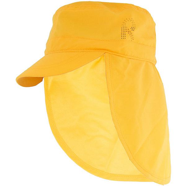 Панама Aloha ReimaШапки и шарфы<br>Характеристики товара:<br><br>• цвет: желтый<br>• состав: 100% полиэстер<br>• защитный козырек<br>• без подкладки<br>• удлиненная сзади<br>• декоративный логотип<br>• фактор защиты от ультрафиолета: 50+<br>• комфортная посадка<br>• страна производства: Китай<br>• страна бренда: Финляндия<br>• коллекция: весна-лето 2017<br><br>Детский головной убор может быть модным и удобным одновременно! Стильная панама поможет обеспечить ребенку комфорт и дополнить наряд. Она отлично смотрится с различной одеждой. Панама удобно сидит и аккуратно выглядит. Проста в уходе, долго служит. Стильный дизайн разрабатывался специально для детей. Отличная защита от солнца!<br><br>Одежда и обувь от финского бренда Reima пользуется популярностью во многих странах. Эти изделия стильные, качественные и удобные. Для производства продукции используются только безопасные, проверенные материалы и фурнитура. Порадуйте ребенка модными и красивыми вещами от Reima! <br><br>Панаму для мальчика от финского бренда Reima (Рейма) можно купить в нашем интернет-магазине.<br><br>Ширина мм: 89<br>Глубина мм: 117<br>Высота мм: 44<br>Вес г: 155<br>Цвет: желтый<br>Возраст от месяцев: 18<br>Возраст до месяцев: 36<br>Пол: Унисекс<br>Возраст: Детский<br>Размер: 50,56,48,52,54<br>SKU: 5267766