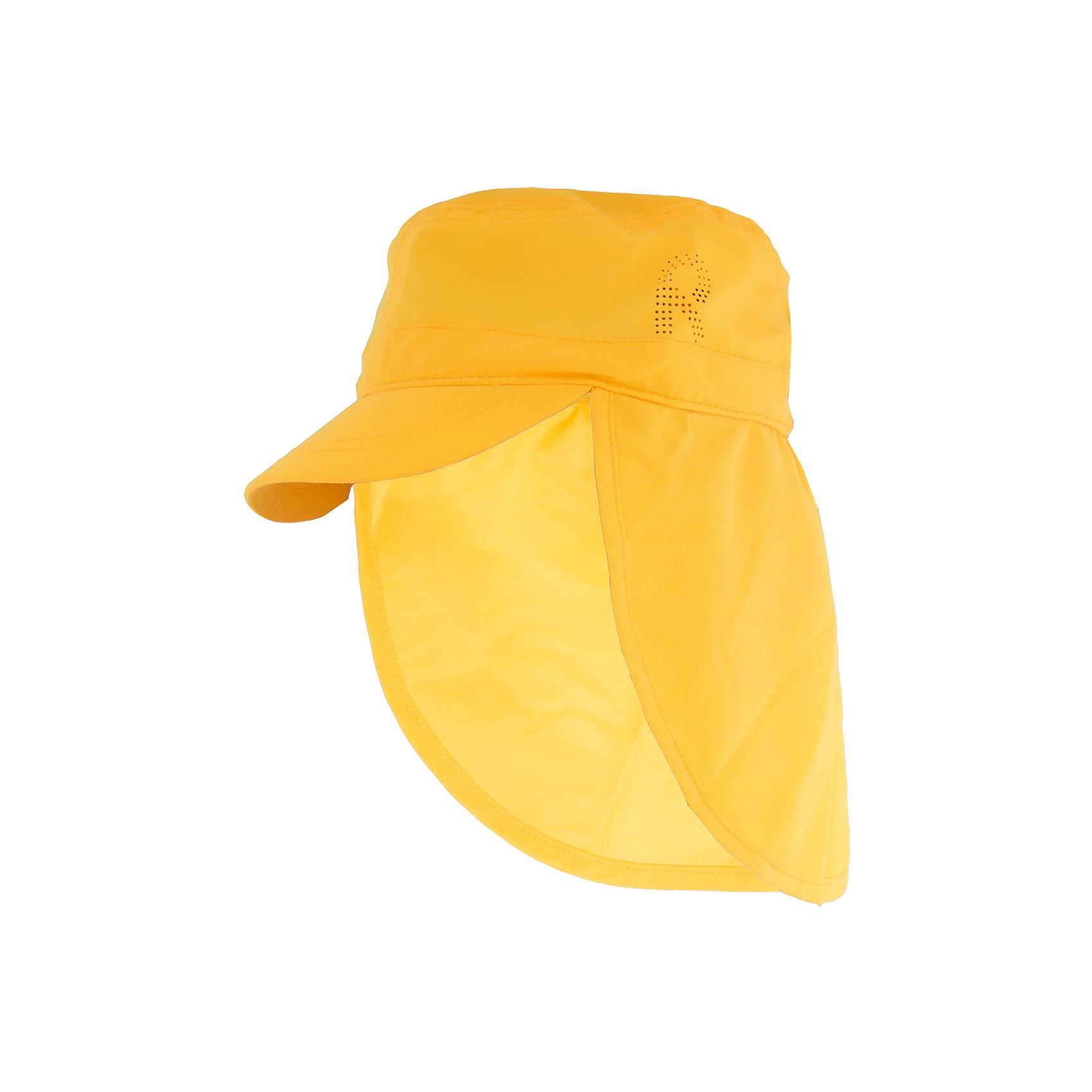 Панама Aloha ReimaШапки и шарфы<br>Характеристики товара:<br><br>• цвет: желтый<br>• состав: 100% полиэстер<br>• защитный козырек<br>• без подкладки<br>• удлиненная сзади<br>• декоративный логотип<br>• фактор защиты от ультрафиолета: 50+<br>• комфортная посадка<br>• страна производства: Китай<br>• страна бренда: Финляндия<br>• коллекция: весна-лето 2017<br><br>Детский головной убор может быть модным и удобным одновременно! Стильная панама поможет обеспечить ребенку комфорт и дополнить наряд. Она отлично смотрится с различной одеждой. Панама удобно сидит и аккуратно выглядит. Проста в уходе, долго служит. Стильный дизайн разрабатывался специально для детей. Отличная защита от солнца!<br><br>Одежда и обувь от финского бренда Reima пользуется популярностью во многих странах. Эти изделия стильные, качественные и удобные. Для производства продукции используются только безопасные, проверенные материалы и фурнитура. Порадуйте ребенка модными и красивыми вещами от Reima! <br><br>Панаму для мальчика от финского бренда Reima (Рейма) можно купить в нашем интернет-магазине.<br><br>Ширина мм: 89<br>Глубина мм: 117<br>Высота мм: 44<br>Вес г: 155<br>Цвет: желтый<br>Возраст от месяцев: 18<br>Возраст до месяцев: 36<br>Пол: Унисекс<br>Возраст: Детский<br>Размер: 50,48,56,54,52<br>SKU: 5267766