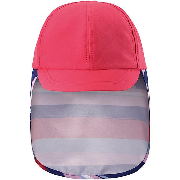 Панама Alytos для девочки ReimaШапки и шарфы<br>Характеристики товара:<br><br>• цвет: розовый<br>• состав: 100% полиэстер<br>• защитный козырек<br>• без подкладки<br>• удлиненная сзади<br>• декоративный логотип<br>• фактор защиты от ультрафиолета: 50+<br>• комфортная посадка<br>• страна производства: Китай<br>• страна бренда: Финляндия<br>• коллекция: весна-лето 2017<br><br>Детский головной убор может быть модным и удобным одновременно! Стильная панама поможет обеспечить ребенку комфорт и дополнить наряд. Она отлично смотрится с различной одеждой. Панама удобно сидит и аккуратно выглядит. Проста в уходе, долго служит. Стильный дизайн разрабатывался специально для детей. Отличная защита от солнца!<br><br>Одежда и обувь от финского бренда Reima пользуется популярностью во многих странах. Эти изделия стильные, качественные и удобные. Для производства продукции используются только безопасные, проверенные материалы и фурнитура. Порадуйте ребенка модными и красивыми вещами от Reima! <br><br>Панаму для мальчика от финского бренда Reima (Рейма) можно купить в нашем интернет-магазине.<br><br>Уход:<br>Стирать по отдельности. Полоскать без специального средства. Сушить при низкой температуре.<br><br>Ширина мм: 89<br>Глубина мм: 117<br>Высота мм: 44<br>Вес г: 155<br>Цвет: розовый<br>Возраст от месяцев: 24<br>Возраст до месяцев: 60<br>Пол: Женский<br>Возраст: Детский<br>Размер: 52,56,46,50,54,48<br>SKU: 5267785