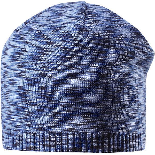 Шапка Liplatus ReimaШапки и шарфы<br>Характеристики товара:<br><br>• цвет: синий<br>• состав: 100% хлопок<br>• температурный режим: от 10С<br>• эластичный хлопковый трикотаж<br>• изделие сертифицированно по стандарту Oeko-Tex на продукция класса 2 - одежда, контактирующая с кожей<br>• облегчённая модель без подкладки<br>• эмблема Reima сзади<br>• страна бренда: Финляндия<br>• страна производства: Китай<br><br>Детский головной убор может быть модным и удобным одновременно! Стильная шапка поможет обеспечить ребенку комфорт и дополнить наряд. Шапка удобно сидит и аккуратно выглядит. Проста в уходе, долго служит.<br><br>Уход:<br><br>• сирать по отдельности, вывернув наизнанку<br>• придать первоначальную форму вo влажном виде<br>• возможна усадка 5 %.<br><br>Шапку для мальчика от финского бренда Reima (Рейма) можно купить в нашем интернет-магазине.<br><br>Ширина мм: 89<br>Глубина мм: 117<br>Высота мм: 44<br>Вес г: 155<br>Цвет: синий<br>Возраст от месяцев: 9<br>Возраст до месяцев: 18<br>Пол: Унисекс<br>Возраст: Детский<br>Размер: 48,52,50,56,54<br>SKU: 5267814