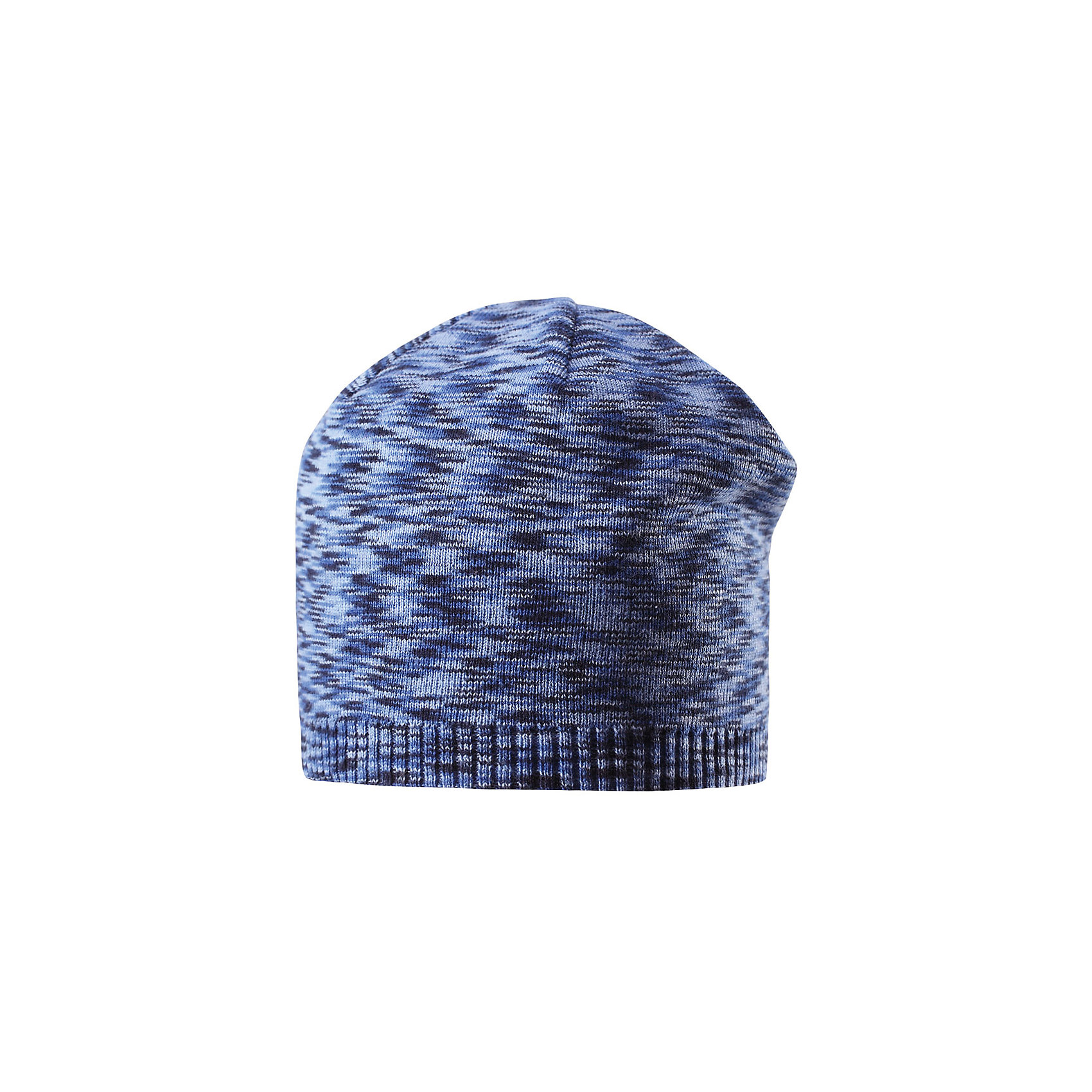Шапка Liplatus ReimaШапки и шарфы<br>Характеристики товара:<br><br>• цвет: синий<br>• состав: 100% хлопок<br>• температурный режим: от 10С<br>• эластичный хлопковый трикотаж<br>• изделие сертифицированно по стандарту Oeko-Tex на продукция класса 2 - одежда, контактирующая с кожей<br>• облегчённая модель без подкладки<br>• эмблема Reima сзади<br>• страна бренда: Финляндия<br>• страна производства: Китай<br><br>Детский головной убор может быть модным и удобным одновременно! Стильная шапка поможет обеспечить ребенку комфорт и дополнить наряд. Шапка удобно сидит и аккуратно выглядит. Проста в уходе, долго служит.<br><br>Уход:<br><br>• сирать по отдельности, вывернув наизнанку<br>• придать первоначальную форму вo влажном виде<br>• возможна усадка 5 %.<br><br>Шапку для мальчика от финского бренда Reima (Рейма) можно купить в нашем интернет-магазине.<br><br>Ширина мм: 89<br>Глубина мм: 117<br>Высота мм: 44<br>Вес г: 155<br>Цвет: синий<br>Возраст от месяцев: 24<br>Возраст до месяцев: 60<br>Пол: Унисекс<br>Возраст: Детский<br>Размер: 52,54,56,50,48<br>SKU: 5267814