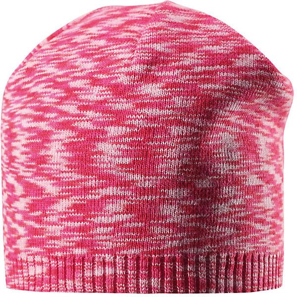 Шапка Liplatus ReimaШапки и шарфы<br>Характеристики товара:<br><br>• цвет: красный<br>• состав: 100% хлопок<br>• температурный режим: от 10С<br>• эластичный хлопковый трикотаж<br>• изделие сертифицированно по стандарту Oeko-Tex на продукция класса 2 - одежда, контактирующая с кожей<br>• облегчённая модель без подкладки<br>• эмблема Reima сзади<br>• страна бренда: Финляндия<br>• страна производства: Китай<br><br>Детский головной убор может быть модным и удобным одновременно! Стильная шапка поможет обеспечить ребенку комфорт и дополнить наряд. Шапка удобно сидит и аккуратно выглядит. Проста в уходе, долго служит.<br><br>Уход:<br><br>• сирать по отдельности, вывернув наизнанку<br>• придать первоначальную форму вo влажном виде<br>• возможна усадка 5 %.<br><br>Шапку для мальчика от финского бренда Reima (Рейма) можно купить в нашем интернет-магазине.<br><br>Ширина мм: 89<br>Глубина мм: 117<br>Высота мм: 44<br>Вес г: 155<br>Цвет: розовый<br>Возраст от месяцев: 9<br>Возраст до месяцев: 18<br>Пол: Унисекс<br>Возраст: Детский<br>Размер: 48,50,52,56,54<br>SKU: 5267820