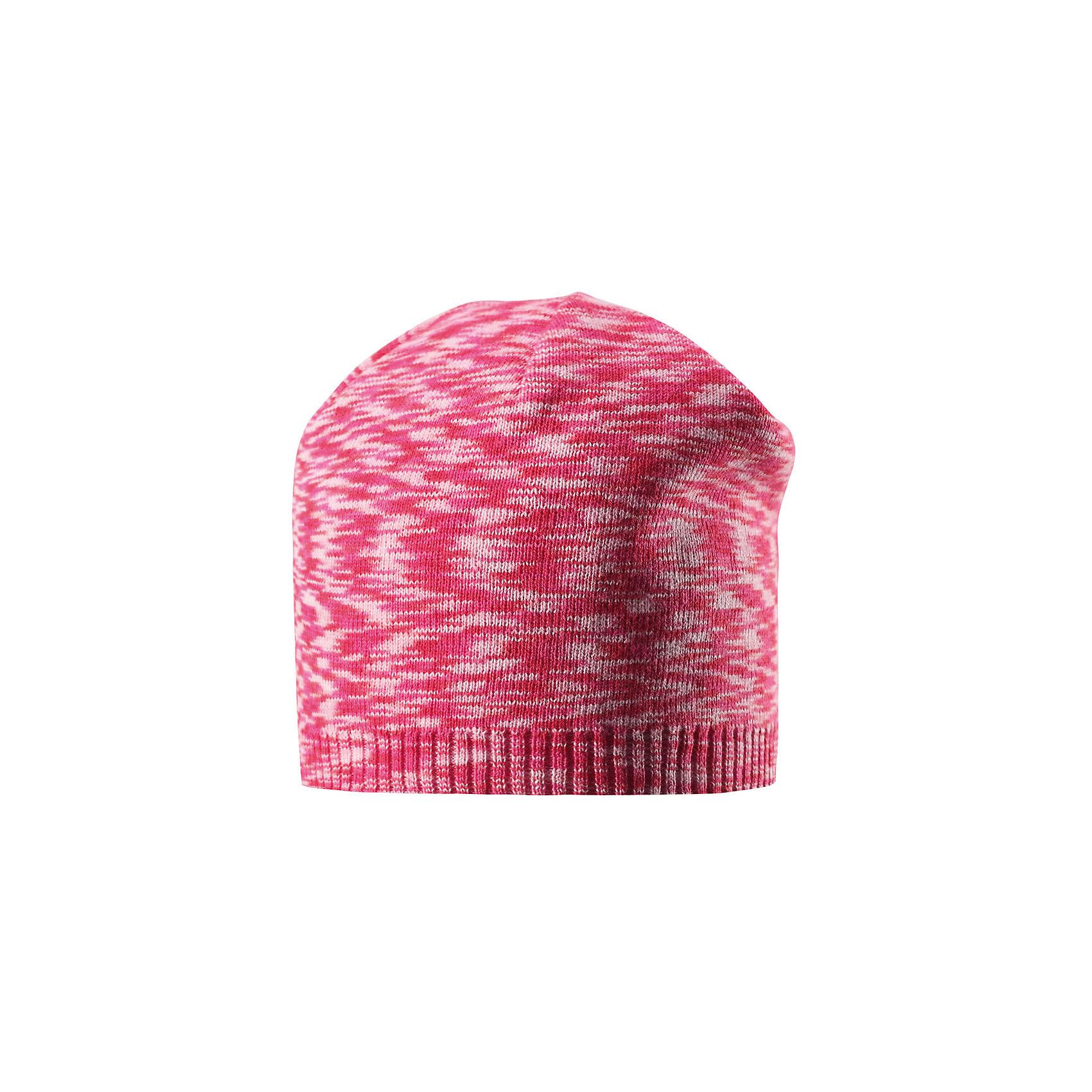 Шапка Liplatus ReimaШапки и шарфы<br>Характеристики товара:<br><br>• цвет: красный<br>• состав: 100% хлопок<br>• температурный режим: от 10С<br>• эластичный хлопковый трикотаж<br>• изделие сертифицированно по стандарту Oeko-Tex на продукция класса 2 - одежда, контактирующая с кожей<br>• облегчённая модель без подкладки<br>• эмблема Reima сзади<br>• страна бренда: Финляндия<br>• страна производства: Китай<br><br>Детский головной убор может быть модным и удобным одновременно! Стильная шапка поможет обеспечить ребенку комфорт и дополнить наряд. Шапка удобно сидит и аккуратно выглядит. Проста в уходе, долго служит.<br><br>Уход:<br><br>• сирать по отдельности, вывернув наизнанку<br>• придать первоначальную форму вo влажном виде<br>• возможна усадка 5 %.<br><br>Шапку для мальчика от финского бренда Reima (Рейма) можно купить в нашем интернет-магазине.<br><br>Ширина мм: 89<br>Глубина мм: 117<br>Высота мм: 44<br>Вес г: 155<br>Цвет: розовый<br>Возраст от месяцев: 18<br>Возраст до месяцев: 36<br>Пол: Унисекс<br>Возраст: Детский<br>Размер: 50,48,54,56,52<br>SKU: 5267820