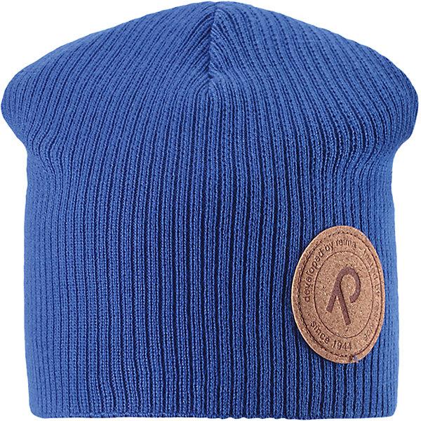 Шапка Majakka для мальчика ReimaШапки и шарфы<br>Характеристики товара:<br><br>• цвет: голубой<br>• состав: 100% хлопок<br>• температурный режим: от +5С<br>• эластичный хлопковый трикотаж<br>• изделие сертифицированно по стандарту Oeko-Tex на продукцию класса 2 - одежда, контактирующая с кожей<br>• сплошная подкладка из хлопкового трикотажа<br>• эмблема Reima спереди<br>• страна бренда: Финляндия<br>• страна производства: Китай<br><br>Детский головной убор может быть модным и удобным одновременно! Стильная шапка поможет обеспечить ребенку комфорт и дополнить наряд. Шапка удобно сидит и аккуратно выглядит. Проста в уходе, долго служит. Стильный дизайн разрабатывался специально для детей. Отличная защита от дождя и ветра!<br><br>Уход:<br><br>• стирать по отдельности, вывернув наизнанку<br>• придать первоначальную форму вo влажном виде<br>• возможна усадка 5 %.<br><br>Шапку от финского бренда Reima (Рейма) можно купить в нашем интернет-магазине.<br><br>Ширина мм: 89<br>Глубина мм: 117<br>Высота мм: 44<br>Вес г: 155<br>Цвет: синий<br>Возраст от месяцев: 18<br>Возраст до месяцев: 36<br>Пол: Мужской<br>Возраст: Детский<br>Размер: 50,54,56,52<br>SKU: 5267831