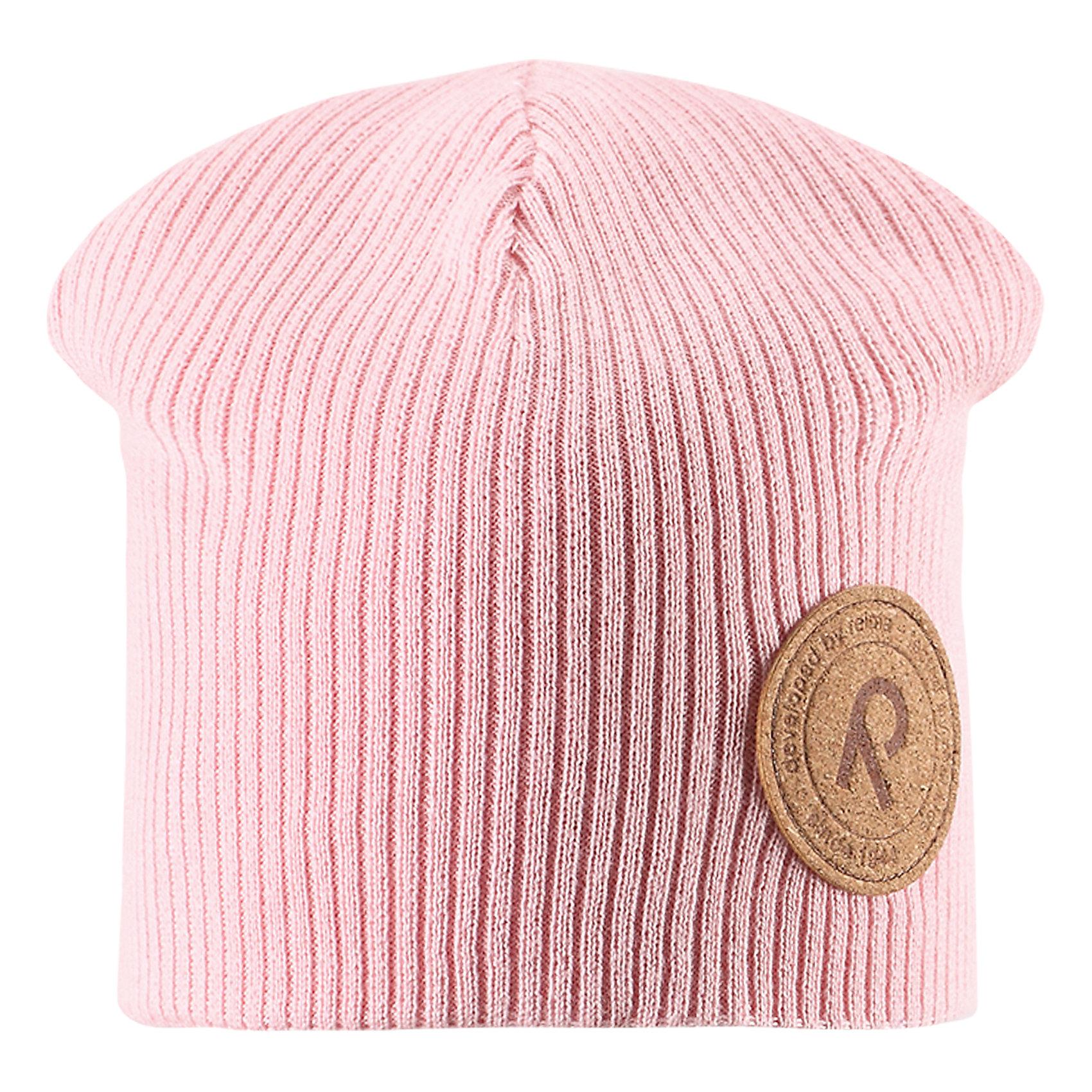 Шапка Majakka для девочки ReimaШапки и шарфы<br>Характеристики товара:<br><br>• цвет: светло-розовый<br>• состав: 100% хлопок<br>• температурный режим: от +5С<br>• эластичный хлопковый трикотаж<br>• изделие сертифицированно по стандарту Oeko-Tex на продукцию класса 2 - одежда, контактирующая с кожей<br>• сплошная подкладка из хлопкового трикотажа<br>• эмблема Reima спереди<br>• страна бренда: Финляндия<br>• страна производства: Китай<br><br>Детский головной убор может быть модным и удобным одновременно! Стильная шапка поможет обеспечить ребенку комфорт и дополнить наряд. Шапка удобно сидит и аккуратно выглядит. Проста в уходе, долго служит. Стильный дизайн разрабатывался специально для детей. Отличная защита от дождя и ветра!<br><br>Уход:<br><br>• стирать по отдельности, вывернув наизнанку<br>• придать первоначальную форму вo влажном виде<br>• возможна усадка 5 %.<br><br>Шапку от финского бренда Reima (Рейма) можно купить в нашем интернет-магазине.<br><br>Ширина мм: 89<br>Глубина мм: 117<br>Высота мм: 44<br>Вес г: 155<br>Цвет: розовый<br>Возраст от месяцев: 84<br>Возраст до месяцев: 144<br>Пол: Женский<br>Возраст: Детский<br>Размер: 56,50,52,54<br>SKU: 5267836