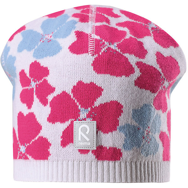 Шапка Paradise для девочки ReimaШапки и шарфы<br>Характеристики товара:<br><br>• цвет: белый<br>• состав: 100% хлопок<br>• температурный режим: от +10С<br>• эластичный хлопковый трикотаж<br>• изделие сертифицированно по стандарту Oeko-Tex на продукцию класса 2 - одежда, контактирующая с кожей<br>• облегчённая модель без подкладки<br>• эмблема Reima спереди<br>• сплошная жаккардовая узорная вязка<br>• светоотражающая эмблема спереди<br>• страна бренда: Финляндия<br>• страна производства: Китай<br><br>Детский головной убор может быть модным и удобным одновременно! Стильная шапка поможет обеспечить ребенку комфорт и дополнить наряд.Шапка удобно сидит и аккуратно выглядит. Проста в уходе, долго служит. Стильный дизайн разрабатывался специально для детей. Отличная защита от дождя и ветра!<br><br>Уход:<br><br>• стирать по отдельности, вывернув наизнанку<br>• придать первоначальную форму вo влажном виде<br>• возможна усадка 5 %.<br><br>Шапку для девочки от финского бренда Reima (Рейма) можно купить в нашем интернет-магазине.<br><br>Ширина мм: 89<br>Глубина мм: 117<br>Высота мм: 44<br>Вес г: 155<br>Цвет: белый<br>Возраст от месяцев: 18<br>Возраст до месяцев: 36<br>Пол: Женский<br>Возраст: Детский<br>Размер: 50,56,52,54<br>SKU: 5267851