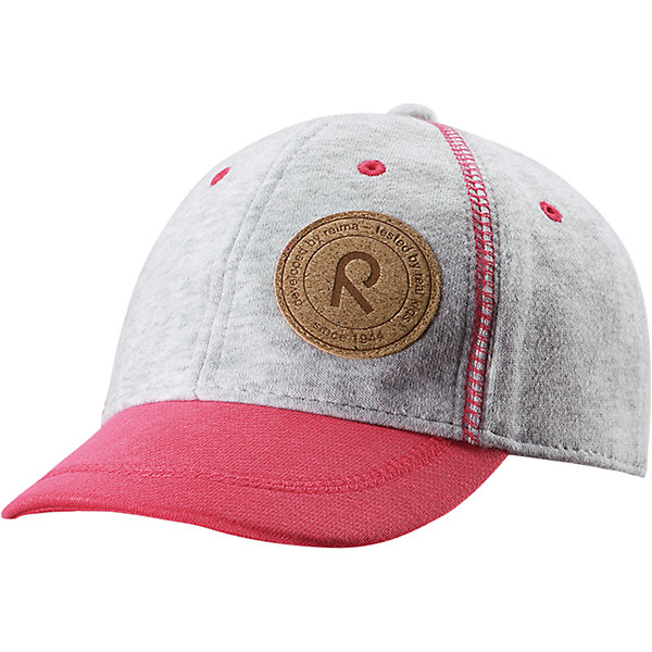 Кепка Purje для девочки ReimaШапки и шарфы<br>Характеристики товара:<br><br>• цвет: розовый/серый<br>• температурный режим: от +5°до +15°С<br>• состав: 55% полиэстер, 45% хлопок<br>• защитный козырек<br>• без подкладки<br>• эластичный материал<br>• декоративный логотип<br>• футер с внутренней стороны<br>• комфортная посадка<br>• страна производства: Китай<br>• страна бренда: Финляндия<br>• коллекция: весна-лето 2017<br><br>Детский головной убор может быть модным и удобным одновременно! Стильная кепка поможет обеспечить ребенку комфорт и дополнить наряд. Она отлично смотрится с различной одеждой. Кепка удобно сидит и аккуратно выглядит. Проста в уходе, долго служит. Стильный дизайн разрабатывался специально для детей. <br><br>Одежда и обувь от финского бренда Reima пользуется популярностью во многих странах. Эти изделия стильные, качественные и удобные. Для производства продукции используются только безопасные, проверенные материалы и фурнитура. Порадуйте ребенка модными и красивыми вещами от Reima! <br><br>Кепку для мальчика от финского бренда Reima (Рейма) можно купить в нашем интернет-магазине.<br><br>Ширина мм: 89<br>Глубина мм: 117<br>Высота мм: 44<br>Вес г: 155<br>Цвет: розовый<br>Возраст от месяцев: 18<br>Возраст до месяцев: 36<br>Пол: Женский<br>Возраст: Детский<br>Размер: 50,54<br>SKU: 5267892