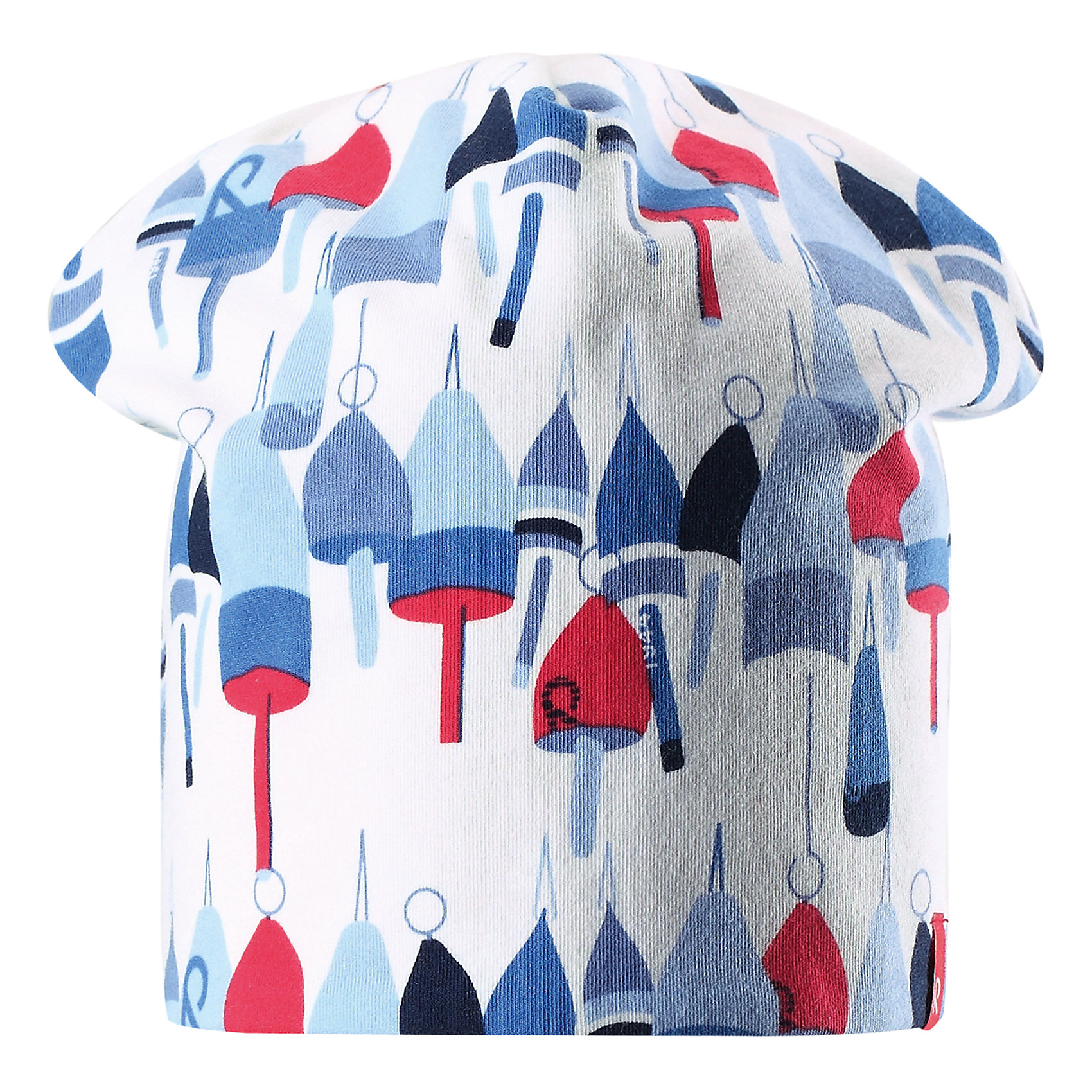 Шапка Frappe для девочки ReimaШапки и шарфы<br>Характеристики товара:<br><br>• цвет: белый принт/красный<br>• быстросохнущий материал<br>• состав: 65% хлопок, 30% полиэстер, 5% эластан<br>• температурный режим: от +5°до +15°С<br>• эластичный материал<br>• сплошная подкладка: влаговыводящий трикотаж<br>• двухсторонняя<br>• отводящий влагу материал Play Jersey<br>• декоративный логотип<br>• фактор защиты от ультрафиолета: 40+<br>• комфортная посадка<br>• страна производства: Китай<br>• страна бренда: Финляндия<br>• коллекция: весна-лето 2017<br><br>Детский головной убор может быть модным и удобным одновременно! Стильная шапка поможет обеспечить ребенку комфорт и дополнить наряд. Она отлично смотрится с различной одеждой. Шапка удобно сидит и аккуратно выглядит. Проста в уходе, долго служит. Стильный дизайн разрабатывался специально для детей. Отличная защита от солнца!<br><br>Одежда и обувь от финского бренда Reima пользуется популярностью во многих странах. Эти изделия стильные, качественные и удобные. Для производства продукции используются только безопасные, проверенные материалы и фурнитура. Порадуйте ребенка модными и красивыми вещами от Reima! <br><br>Шапку для мальчика от финского бренда Reima (Рейма) можно купить в нашем интернет-магазине.<br><br>Ширина мм: 89<br>Глубина мм: 117<br>Высота мм: 44<br>Вес г: 155<br>Цвет: белый<br>Возраст от месяцев: 18<br>Возраст до месяцев: 36<br>Пол: Женский<br>Возраст: Детский<br>Размер: 50,54<br>SKU: 5267922