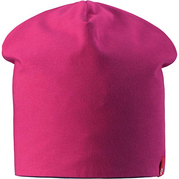 Шапка Lautta для девочки ReimaШапки и шарфы<br>Характеристики товара:<br><br>• цвет: красный/темно-синий<br>• быстросохнущий материал<br>• состав: 65% хлопок, 30% полиэстер, 5% эластан<br>• эластичный материал<br>• двухсторонняя<br>• подкладка: отводящий влагу материал Play Jersey<br>• декоративный логотип<br>• фактор защиты от ультрафиолета: 40+<br>• комфортная посадка<br>• страна производства: Китай<br>• страна бренда: Финляндия<br>• коллекция: весна-лето 2017<br><br>Детский головной убор может быть модным и удобным одновременно! Стильная шапка поможет обеспечить ребенку комфорт и дополнить наряд. Она отлично смотрится с различной одеждой. Шапка удобно сидит и аккуратно выглядит. Проста в уходе, долго служит. Стильный дизайн разрабатывался специально для детей. Отличная защита от солнца!<br><br>Одежда и обувь от финского бренда Reima пользуется популярностью во многих странах. Эти изделия стильные, качественные и удобные. Для производства продукции используются только безопасные, проверенные материалы и фурнитура. Порадуйте ребенка модными и красивыми вещами от Reima! <br><br>Шапку от финского бренда Reima (Рейма) можно купить в нашем интернет-магазине.<br><br>Ширина мм: 89<br>Глубина мм: 117<br>Высота мм: 44<br>Вес г: 155<br>Цвет: розовый<br>Возраст от месяцев: 18<br>Возраст до месяцев: 36<br>Пол: Женский<br>Возраст: Детский<br>Размер: 50,54<br>SKU: 5267934