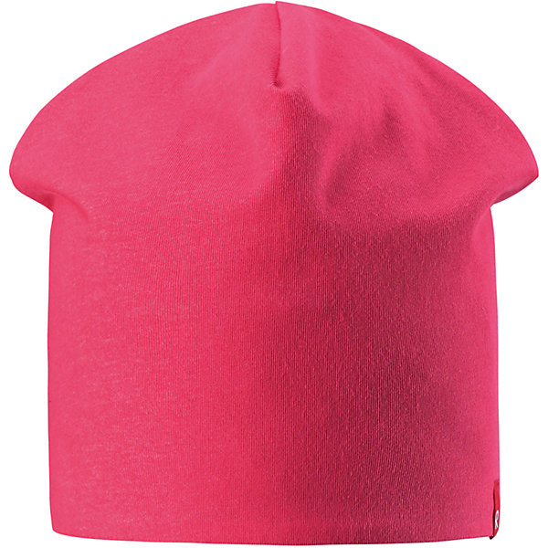 Шапка Lautta для девочки ReimaШапки и шарфы<br>Характеристики товара:<br><br>• цвет: розовый/темно-синий<br>• быстросохнущий материал<br>• состав: 65% хлопок, 30% полиэстер, 5% эластан<br>• эластичный материал<br>• двухсторонняя<br>• подкладка: отводящий влагу материал Play Jersey<br>• декоративный логотип<br>• фактор защиты от ультрафиолета: 40+<br>• комфортная посадка<br>• страна производства: Китай<br>• страна бренда: Финляндия<br>• коллекция: весна-лето 2017<br><br>Детский головной убор может быть модным и удобным одновременно! Стильная шапка поможет обеспечить ребенку комфорт и дополнить наряд. Она отлично смотрится с различной одеждой. Шапка удобно сидит и аккуратно выглядит. Проста в уходе, долго служит. Стильный дизайн разрабатывался специально для детей. Отличная защита от солнца!<br><br>Одежда и обувь от финского бренда Reima пользуется популярностью во многих странах. Эти изделия стильные, качественные и удобные. Для производства продукции используются только безопасные, проверенные материалы и фурнитура. Порадуйте ребенка модными и красивыми вещами от Reima! <br><br>Шапку от финского бренда Reima (Рейма) можно купить в нашем интернет-магазине.<br><br>Ширина мм: 89<br>Глубина мм: 117<br>Высота мм: 44<br>Вес г: 155<br>Цвет: розовый<br>Возраст от месяцев: 18<br>Возраст до месяцев: 36<br>Пол: Женский<br>Возраст: Детский<br>Размер: 50,54<br>SKU: 5267937