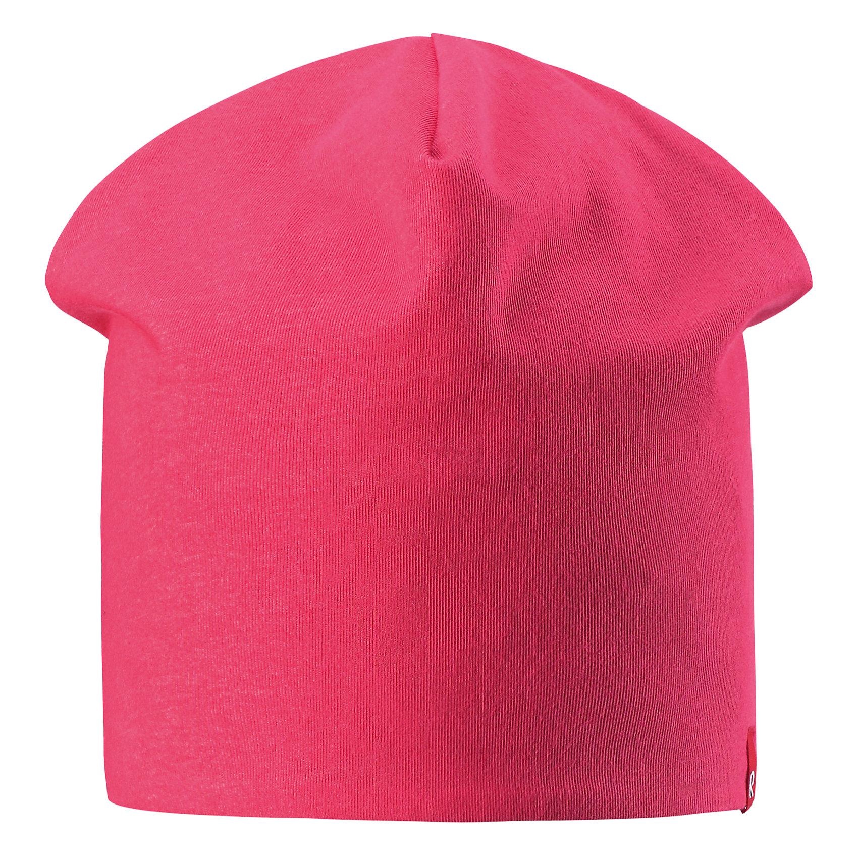 Шапка Lautta для девочки ReimaХарактеристики товара:<br><br>• цвет: розовый/темно-синий<br>• быстросохнущий материал<br>• состав: 65% хлопок, 30% полиэстер, 5% эластан<br>• эластичный материал<br>• двухсторонняя<br>• подкладка: отводящий влагу материал Play Jersey<br>• декоративный логотип<br>• фактор защиты от ультрафиолета: 40+<br>• комфортная посадка<br>• страна производства: Китай<br>• страна бренда: Финляндия<br>• коллекция: весна-лето 2017<br><br>Детский головной убор может быть модным и удобным одновременно! Стильная шапка поможет обеспечить ребенку комфорт и дополнить наряд. Она отлично смотрится с различной одеждой. Шапка удобно сидит и аккуратно выглядит. Проста в уходе, долго служит. Стильный дизайн разрабатывался специально для детей. Отличная защита от солнца!<br><br>Одежда и обувь от финского бренда Reima пользуется популярностью во многих странах. Эти изделия стильные, качественные и удобные. Для производства продукции используются только безопасные, проверенные материалы и фурнитура. Порадуйте ребенка модными и красивыми вещами от Reima! <br><br>Шапку от финского бренда Reima (Рейма) можно купить в нашем интернет-магазине.<br><br>Ширина мм: 89<br>Глубина мм: 117<br>Высота мм: 44<br>Вес г: 155<br>Цвет: розовый<br>Возраст от месяцев: 48<br>Возраст до месяцев: 84<br>Пол: Женский<br>Возраст: Детский<br>Размер: 54,50<br>SKU: 5267937