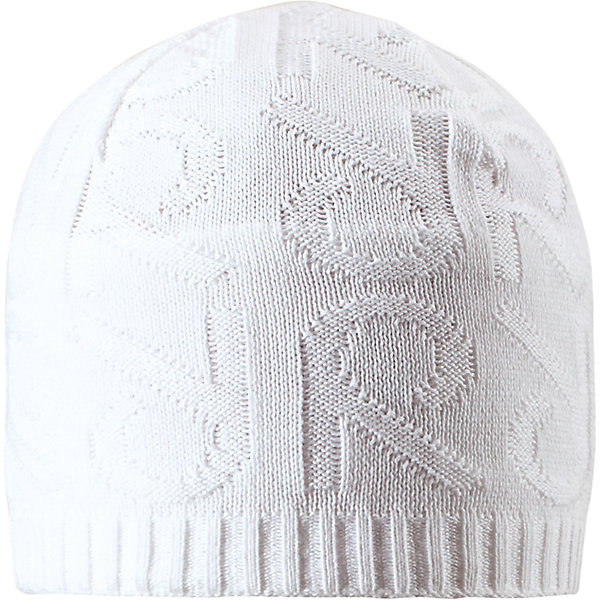 Шапка Ankkuri ReimaШапки и шарфы<br>Характеристики товара:<br><br>• цвет: белый<br>• состав: 100% хлопок<br>• температурный режим: от +7С<br>• эластичный хлопковый трикотаж<br>• изделие сертифицированно по стандарту Oeko-Tex на продукцию класса 2 - одежда, контактирующая с кожей<br>• ветронепроницаемые вставки в области ушей<br>• полуподкладка: хлопковый трикотаж<br>• эмблема Reima сзади<br>• декортивная структурная вязка<br>• светоотражающая эмблема сзади<br>• страна бренда: Финляндия<br>• страна производства: Китай<br><br>Детский головной убор может быть модным и удобным одновременно! Стильная шапка поможет обеспечить ребенку комфорт и дополнить наряд.Шапка удобно сидит и аккуратно выглядит. Проста в уходе, долго служит. Стильный дизайн разрабатывался специально для детей. Отличная защита от дождя и ветра!<br><br>Уход:<br><br>• стирать по отдельности, вывернув наизнанку<br>• придать первоначальную форму вo влажном виде<br>• возможна усадка 5 %.<br><br>Шапку от финского бренда Reima (Рейма) можно купить в нашем интернет-магазине.<br>Ширина мм: 89; Глубина мм: 117; Высота мм: 44; Вес г: 155; Цвет: белый; Возраст от месяцев: 84; Возраст до месяцев: 144; Пол: Унисекс; Возраст: Детский; Размер: 56,52,50,54; SKU: 5267950;
