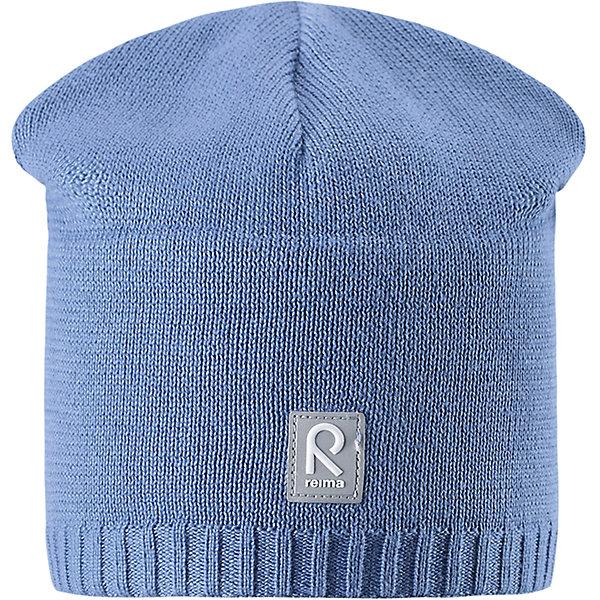 Шапка Datoline ReimaШапки и шарфы<br>Характеристики товара:<br><br>• цвет: голубой<br>• состав: 100% хлопок<br>• температурный режим: от +7С<br>• эластичный хлопковый трикотаж<br>• изделие сертифицированно по стандарту Oeko-Tex на продукцию класса 2 - одежда, контактирующая с кожей<br>• ветронепроницаемые вставки в области ушей<br>• полуподкладка: хлопковый трикотаж<br>• эмблема Reima спереди<br>• светоотражающая эмблема спереди<br>• страна бренда: Финляндия<br>• страна производства: Китай<br><br>Детский головной убор может быть модным и удобным одновременно! Стильная шапка поможет обеспечить ребенку комфорт и дополнить наряд.Шапка удобно сидит и аккуратно выглядит. Проста в уходе, долго служит. Стильный дизайн разрабатывался специально для детей. Отличная защита от дождя и ветра!<br><br>Уход:<br><br>• стирать по отдельности, вывернув наизнанку<br>• придать первоначальную форму вo влажном виде<br>• возможна усадка 5 %.<br><br>Шапку от финского бренда Reima (Рейма) можно купить в нашем интернет-магазине.<br><br>Ширина мм: 89<br>Глубина мм: 117<br>Высота мм: 44<br>Вес г: 155<br>Цвет: синий<br>Возраст от месяцев: 84<br>Возраст до месяцев: 144<br>Пол: Унисекс<br>Возраст: Детский<br>Размер: 56,50,54,52<br>SKU: 5267965