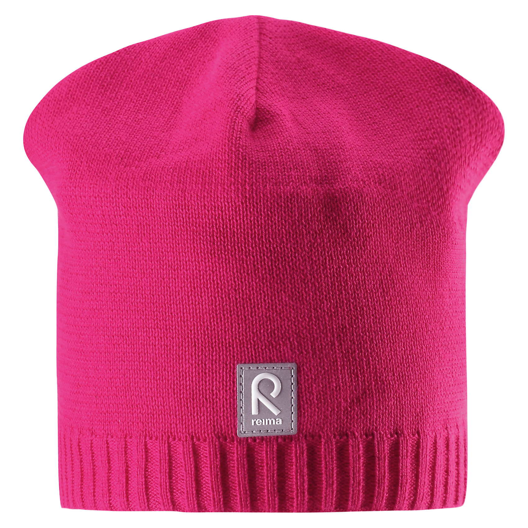 Шапка Datoline для девочки ReimaШапки и шарфы<br>Характеристики товара:<br><br>• цвет: фуксия<br>• состав: 100% хлопок<br>• температурный режим: от +7С<br>• эластичный хлопковый трикотаж<br>• изделие сертифицированно по стандарту Oeko-Tex на продукцию класса 2 - одежда, контактирующая с кожей<br>• ветронепроницаемые вставки в области ушей<br>• полуподкладка: хлопковый трикотаж<br>• эмблема Reima спереди<br>• светоотражающая эмблема спереди<br>• страна бренда: Финляндия<br>• страна производства: Китай<br><br>Детский головной убор может быть модным и удобным одновременно! Стильная шапка поможет обеспечить ребенку комфорт и дополнить наряд.Шапка удобно сидит и аккуратно выглядит. Проста в уходе, долго служит. Стильный дизайн разрабатывался специально для детей. Отличная защита от дождя и ветра!<br><br>Уход:<br><br>• стирать по отдельности, вывернув наизнанку<br>• придать первоначальную форму вo влажном виде<br>• возможна усадка 5 %.<br><br>Шапку от финского бренда Reima (Рейма) можно купить в нашем интернет-магазине.<br><br>Ширина мм: 89<br>Глубина мм: 117<br>Высота мм: 44<br>Вес г: 155<br>Цвет: розовый<br>Возраст от месяцев: 18<br>Возраст до месяцев: 36<br>Пол: Женский<br>Возраст: Детский<br>Размер: 54,50,56,52<br>SKU: 5267970
