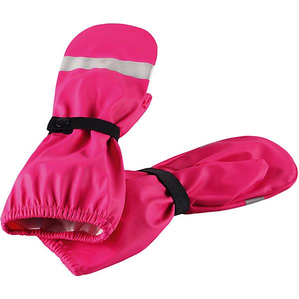 Непромокаемые варежки Kura для девочки ReimaПерчатки и варежки<br>Характеристики товара:<br><br>• цвет: розовый<br>• состав: 100% полиэстер, полиуретановое покрытие<br>• температурный режим: от +10°до +20°С<br>• водонепроницаемость: 10000 мм<br>• водонепроницаемый материал с запаянными швами<br>• светоотражающие детали<br>• эластичный материал<br>• без подкладки<br>• страна производства: Китай<br>• страна бренда: Финляндия<br>• коллекция: весна-лето 2017<br><br>Reima представляет новые варежки для детей. Они помогут обеспечить ребенку комфорт и дополнить наряд. Варежки отлично смотрятся с различной одеждой. Изделия удобно сидят и модно выглядят, в их основе - водонепроницаемый материал. Просты в уходе, долго служат. Стильный дизайн разрабатывался специально для детей.<br><br>Одежда и обувь от финского бренда Reima пользуется популярностью во многих странах. Эти изделия стильные, качественные и удобные. Для производства продукции используются только безопасные, проверенные материалы и фурнитура. Порадуйте ребенка модными и красивыми вещами от Reima! <br><br>Варежки от финского бренда Reima (Рейма) можно купить в нашем интернет-магазине.<br>Ширина мм: 162; Глубина мм: 171; Высота мм: 55; Вес г: 119; Цвет: розовый; Возраст от месяцев: 72; Возраст до месяцев: 96; Пол: Женский; Возраст: Детский; Размер: 5,1,2,3,4; SKU: 5268086;
