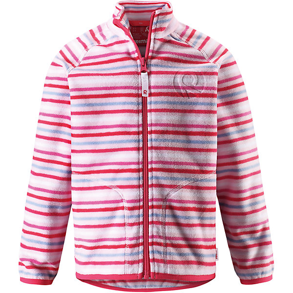 Куртка флисовая Inrun для девочки ReimaФлис и термобелье<br>Характеристики товара:<br><br>• цвет: розовый<br>• состав: 100% полиэстер<br>• поларфлис<br>• аппликация<br>• молния<br>• защита подбородка<br>• приятная на ощупь ткань<br>• карманы<br>• может пристегиваться к верхней одежде Reima® кнопками Play Layers®<br>• эластичные манжеты и подол<br>• удлиненная сзади<br>• комфортная посадка<br>• страна производства: Китай<br>• страна бренда: Финляндия<br>• коллекция: весна-лето 2017<br><br>Одежда для детей может быть модной и комфортной одновременно! Удобная курточка поможет обеспечить ребенку комфорт и тепло. Изделие сшито из поларфлис - мягкого и теплого материала, приятного на ощупь. Модель стильно смотрится, отлично сочетается с различным низом. Стильный дизайн разрабатывался специально для детей.<br><br>Одежда и обувь от финского бренда Reima пользуется популярностью во многих странах. Эти изделия стильные, качественные и удобные. Для производства продукции используются только безопасные, проверенные материалы и фурнитура. Порадуйте ребенка модными и красивыми вещами от Reima! <br><br>Куртку флисовую для мальчика от финского бренда Reima (Рейма) можно купить в нашем интернет-магазине.<br><br>Ширина мм: 356<br>Глубина мм: 10<br>Высота мм: 245<br>Вес г: 519<br>Цвет: розовый<br>Возраст от месяцев: 96<br>Возраст до месяцев: 108<br>Пол: Женский<br>Возраст: Детский<br>Размер: 134,92,98,104,110,116,122,128,140<br>SKU: 5268146