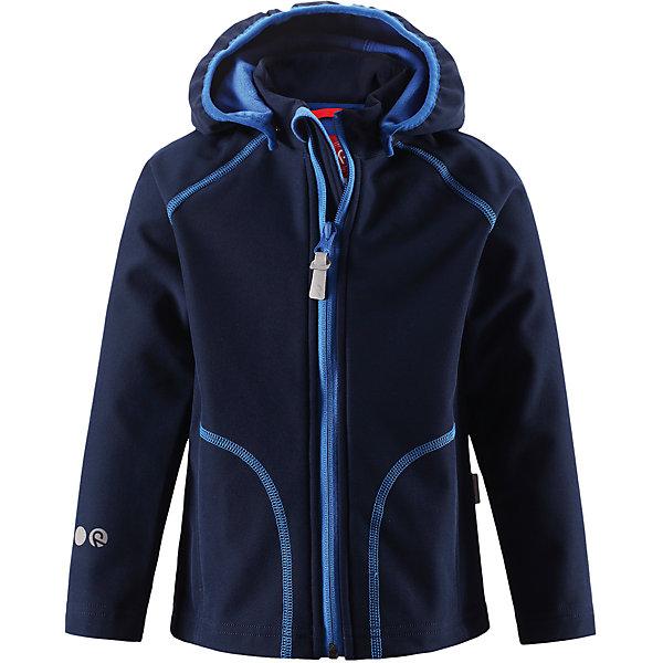 Куртка Vantti для мальчика ReimaОдежда<br>Характеристики товара:<br><br>• цвет: темно-синий<br>• состав: 95% полиэстер, 5% эластан, полиуретановое покрытие<br>• температурный режим: от +5°до +15°С<br>• многослойный материал, с изнаночной стороны - флис<br>• водонепроницаемый материал softshell<br>• ветронепроницаемый дышащий материал<br>• безопасный съемный капюшон<br>• два боковых кармана<br>• без утеплителя<br>• молния<br>• комфортная посадка<br>• страна производства: Китай<br>• страна бренда: Финляндия<br>• коллекция: весна-лето 2017<br><br>Верхняя одежда для детей может быть модной и комфортной одновременно! Демисезонная куртка поможет обеспечить ребенку комфорт и тепло. Она отлично смотрится с различной одеждой и обувью. Изделие удобно сидит и модно выглядит. Материал - прочный, хорошо подходящий для межсезонья. Стильный дизайн разрабатывался специально для детей.<br><br>Одежда и обувь от финского бренда Reima пользуется популярностью во многих странах. Эти изделия стильные, качественные и удобные. Для производства продукции используются только безопасные, проверенные материалы и фурнитура. Порадуйте ребенка модными и красивыми вещами от Reima! <br><br>Куртку Reimatec® от финского бренда Reima (Рейма) можно купить в нашем интернет-магазине.<br>Ширина мм: 356; Глубина мм: 10; Высота мм: 245; Вес г: 519; Цвет: темно-синий; Возраст от месяцев: 48; Возраст до месяцев: 60; Пол: Мужской; Возраст: Детский; Размер: 110,134,140,104,116,122,128; SKU: 5268506;