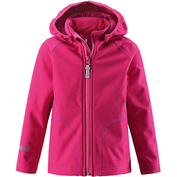 Куртка Vantti для девочки ReimaОдежда<br>Характеристики товара:<br><br>• цвет: розовый<br>• состав: 95% полиэстер, 5% эластан, полиуретановое покрытие<br>• температурный режим: от +5°до +15°С<br>• многослойный материал, с изнаночной стороны - флис<br>• водонепроницаемый материал softshell<br>• ветронепроницаемый дышащий материал<br>• безопасный съемный капюшон<br>• два боковых кармана<br>• без утеплителя<br>• молния<br>• комфортная посадка<br>• страна производства: Китай<br>• страна бренда: Финляндия<br>• коллекция: весна-лето 2017<br><br>Верхняя одежда для детей может быть модной и комфортной одновременно! Демисезонная куртка поможет обеспечить ребенку комфорт и тепло. Она отлично смотрится с различной одеждой и обувью. Изделие удобно сидит и модно выглядит. Материал - прочный, хорошо подходящий для межсезонья. Стильный дизайн разрабатывался специально для детей.<br><br>Одежда и обувь от финского бренда Reima пользуется популярностью во многих странах. Эти изделия стильные, качественные и удобные. Для производства продукции используются только безопасные, проверенные материалы и фурнитура. Порадуйте ребенка модными и красивыми вещами от Reima! <br><br>Куртку Reimatec® от финского бренда Reima (Рейма) можно купить в нашем интернет-магазине.<br>Ширина мм: 356; Глубина мм: 10; Высота мм: 245; Вес г: 519; Цвет: розовый; Возраст от месяцев: 84; Возраст до месяцев: 96; Пол: Женский; Возраст: Детский; Размер: 128,140,134,122,116,110,104; SKU: 5268514;