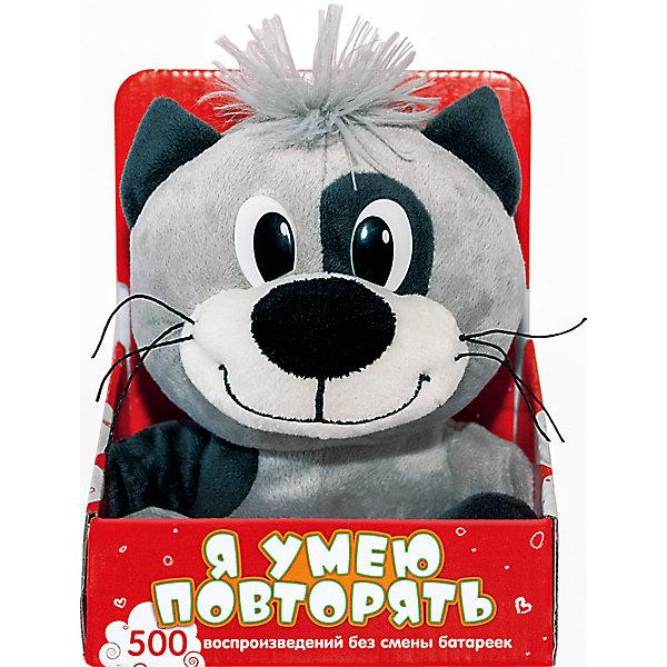 Музыкальная мягкая игрушка Котик, Dream makersМузыкальные мягкие игрушки<br>Характеристики:<br><br>• высота игрушки: 20 см;<br>• материал: плюш, текстиль, синтетический наполнитель. <br><br>Котик-повторюшка Dream makers с функцией записи голоса повеселит не только детей, но и взрослых. Короткую фразу котик произносит с такой же интонацией, с какой вы к нему обращаетесь. Игрушка выполняет до 500 воспроизведений без смены батареек. <br><br>Музыкальную мягкую игрушку Котик, Dream makers можно купить в нашем магазине.<br><br>Ширина мм: 120<br>Глубина мм: 150<br>Высота мм: 200<br>Вес г: 200<br>Возраст от месяцев: 36<br>Возраст до месяцев: 2147483647<br>Пол: Унисекс<br>Возраст: Детский<br>SKU: 5268988