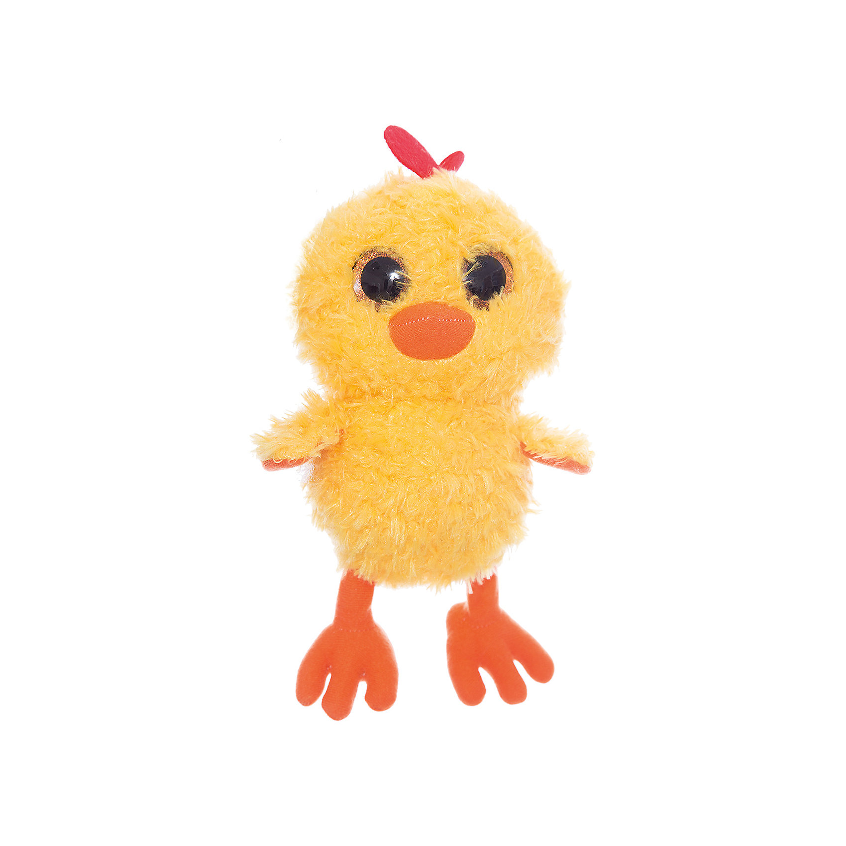 Мягкая игрушка Цыпленок глазастик, FancyЗвери и птицы<br>Характеристики:<br><br>• высота игрушки: 22 см;<br>• тип игрушки: мягконабивная;<br>• материал: текстиль, синтетический наполнитель. <br><br>Мягкая игрушка Цыпленок глазастик с огромными глазками будет сопровождать вашего малыша на прогулках, в садике, в кроватке. Цыпленок мягконабивной, приятный на ощупь, изготовлен из качественных материалов. <br><br>Мягкую игрушку Цыпленок глазастик, Fancy можно купить в нашем магазине.<br><br>Ширина мм: 140<br>Глубина мм: 150<br>Высота мм: 230<br>Вес г: 135<br>Возраст от месяцев: 36<br>Возраст до месяцев: 2147483647<br>Пол: Унисекс<br>Возраст: Детский<br>SKU: 5268993