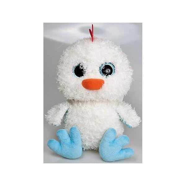 Мягкая игрушка Цыпленок глазастик, FancyМягкие игрушки животные<br>Характеристики:<br><br>• высота игрушки: 25 см;<br>• тип игрушки: мягконабивная;<br>• материал: текстиль, синтетический наполнитель. <br><br>Мягкая игрушка Цыпленок глазастик с огромными глазками будет сопровождать вашего малыша на прогулках, в садике, в кроватке. Цыпленок мягконабивной, приятный на ощупь, изготовлен из качественных материалов. Белоснежный малыш-цыпленок с клювиком и хохолком станет надежным другом вашего крохи.<br><br>Мягкую игрушку Цыпленок глазастик, Fancy можно купить в нашем магазине.<br><br>Ширина мм: 140<br>Глубина мм: 150<br>Высота мм: 230<br>Вес г: 135<br>Возраст от месяцев: 36<br>Возраст до месяцев: 2147483647<br>Пол: Унисекс<br>Возраст: Детский<br>SKU: 5268994