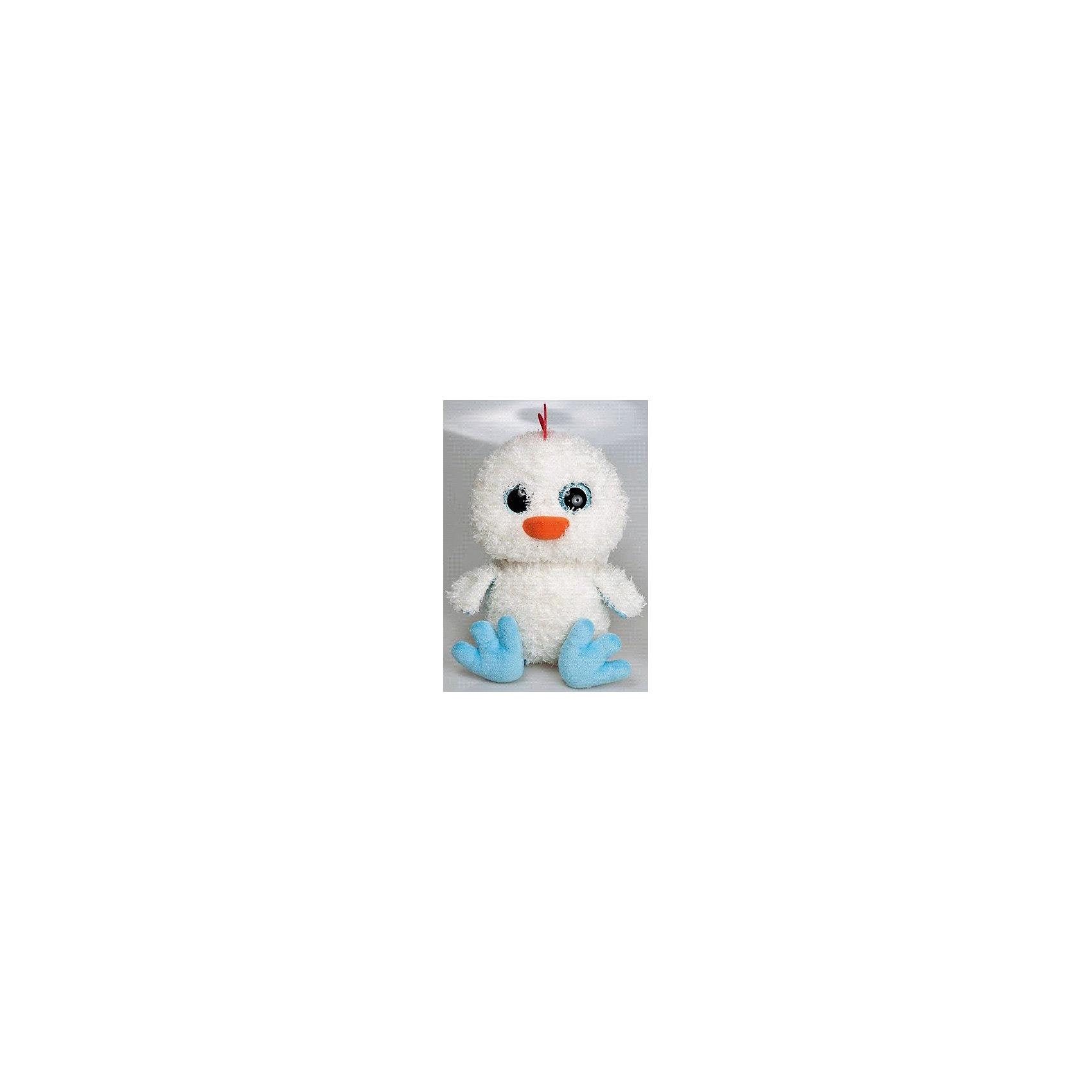 Мягкая игрушка Цыпленок глазастик, FancyХарактеристики:<br><br>• высота игрушки: 25 см;<br>• тип игрушки: мягконабивная;<br>• материал: текстиль, синтетический наполнитель. <br><br>Мягкая игрушка Цыпленок глазастик с огромными глазками будет сопровождать вашего малыша на прогулках, в садике, в кроватке. Цыпленок мягконабивной, приятный на ощупь, изготовлен из качественных материалов. Белоснежный малыш-цыпленок с клювиком и хохолком станет надежным другом вашего крохи.<br><br>Мягкую игрушку Цыпленок глазастик, Fancy можно купить в нашем магазине.<br><br>Ширина мм: 140<br>Глубина мм: 150<br>Высота мм: 230<br>Вес г: 135<br>Возраст от месяцев: 36<br>Возраст до месяцев: 2147483647<br>Пол: Унисекс<br>Возраст: Детский<br>SKU: 5268994