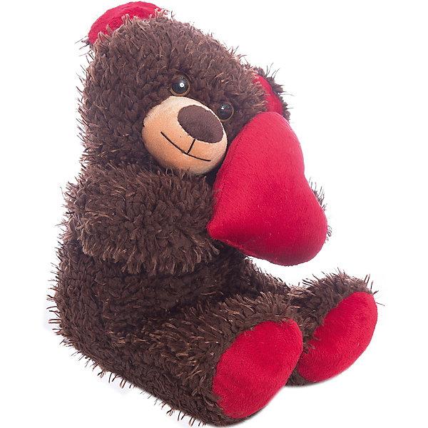 Мягкая игрушка Медвежонок Чиба с сердцем, FancyМягкие игрушки животные<br>Характеристики:<br><br>• высота игрушки: 30 см;<br>• тип игрушки: мягконабивная;<br>• материал: текстиль, синтетический наполнитель. <br><br>Мягкая игрушка медвежонок Чиба считается полноправным покровителем Дня Святого Валентина. Огромное сердце, которое малыш держит в лапках, станет самым ярким доказательством вашей любви. Медвежонок Чиба – все понятно без слов! <br><br>Мягкую игрушку Медвежонок Чиба с сердцем, Fancy можно купить в нашем магазине.<br>Ширина мм: 210; Глубина мм: 170; Высота мм: 280; Вес г: 270; Возраст от месяцев: 36; Возраст до месяцев: 2147483647; Пол: Женский; Возраст: Детский; SKU: 5269000;