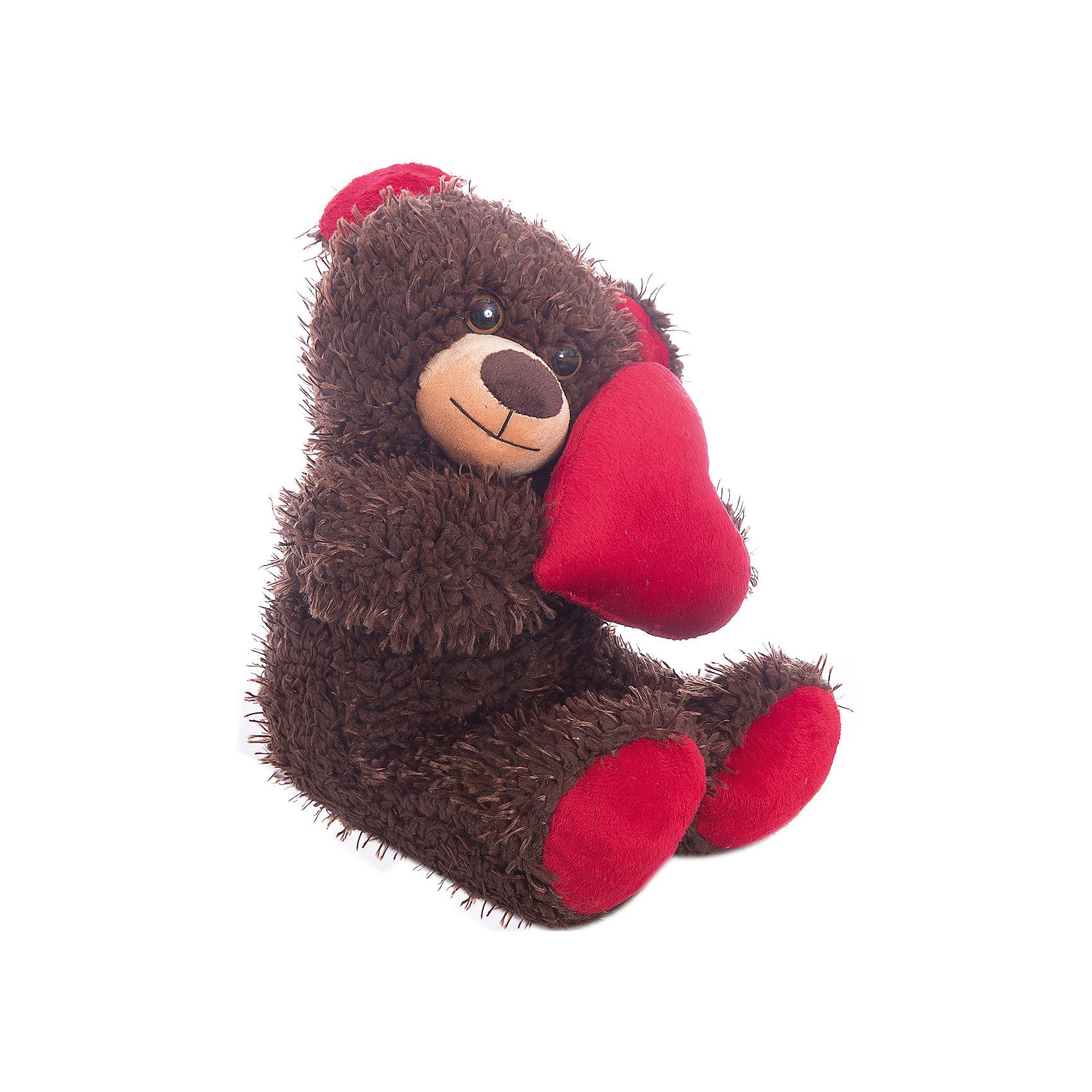 Мягкая игрушка Медвежонок Чиба с сердцем, FancyМягкие игрушки животные<br>Характеристики:<br><br>• высота игрушки: 30 см;<br>• тип игрушки: мягконабивная;<br>• материал: текстиль, синтетический наполнитель. <br><br>Мягкая игрушка медвежонок Чиба считается полноправным покровителем Дня Святого Валентина. Огромное сердце, которое малыш держит в лапках, станет самым ярким доказательством вашей любви. Медвежонок Чиба – все понятно без слов! <br><br>Мягкую игрушку Медвежонок Чиба с сердцем, Fancy можно купить в нашем магазине.<br><br>Ширина мм: 210<br>Глубина мм: 170<br>Высота мм: 280<br>Вес г: 270<br>Возраст от месяцев: 36<br>Возраст до месяцев: 2147483647<br>Пол: Женский<br>Возраст: Детский<br>SKU: 5269000