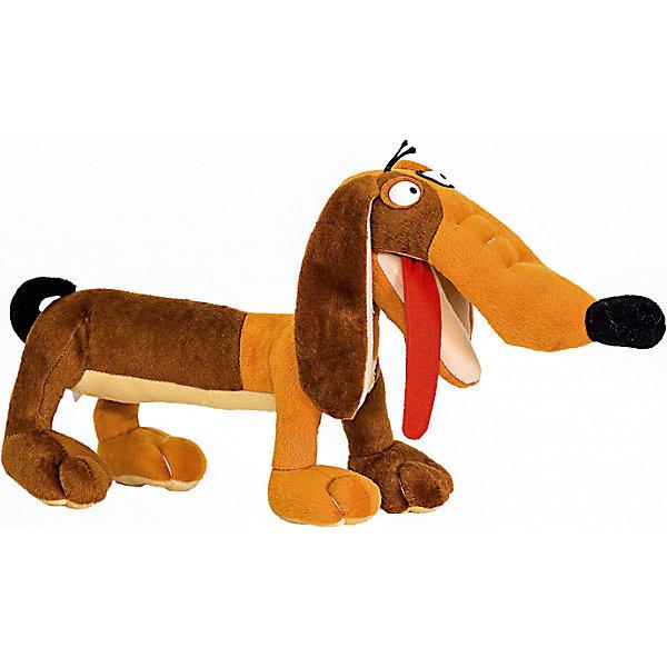Мягкая игрушка Собака такса, FancyСимвол 2018 года: Собака<br>Характеристики:<br><br>• высота игрушки: 44 см;<br>• тип игрушки: мягконабивная;<br>• материал: текстиль, синтетический наполнитель. <br><br>Длинная такса на коротких лапках любит прогулки. Мягкая игрушка Такса с высунутым языком поднимает настроение, собаку можно использовать как подушечку под голову – напоминает валик. Игрушки Fancy изготовлены из гипоаллергенных материалов. <br><br>Мягкую игрушку Собака такса, Fancy можно купить в нашем магазине.<br>Ширина мм: 440; Глубина мм: 150; Высота мм: 210; Вес г: 270; Возраст от месяцев: 36; Возраст до месяцев: 2147483647; Пол: Унисекс; Возраст: Детский; SKU: 5269001;