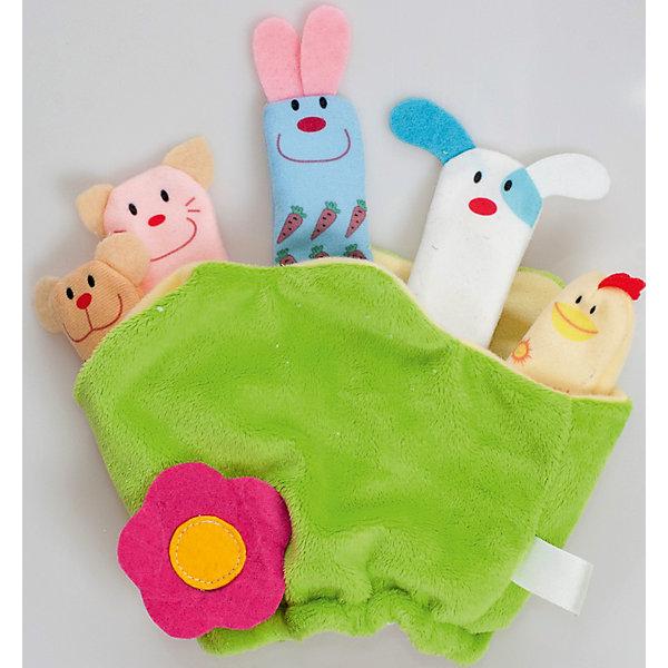 Мягкая игрушка Полянка, FancyМягкие игрушки животные<br>Характеристики:<br><br>• размер полянки: 25х21 см;<br>• количество игрушек: 5 шт.;<br>• тип игрушки: мягконабивная;<br>• материал: текстиль, синтетический наполнитель. <br><br>Кукольный театр с плюшевыми игрушками – полезное развлечение для малыша. На полянке устроились 5 персонажей, которые будут участвовать в спектакле. Малыш может сам надевать игрушки на пальчики, или мама будет показывать спектакль – это зависит от возраста крохи. <br><br>Мягкую игрушку Полянка, Fancy можно купить в нашем магазине.<br><br>Ширина мм: 30<br>Глубина мм: 210<br>Высота мм: 248<br>Вес г: 110<br>Возраст от месяцев: 36<br>Возраст до месяцев: 2147483647<br>Пол: Унисекс<br>Возраст: Детский<br>SKU: 5269003