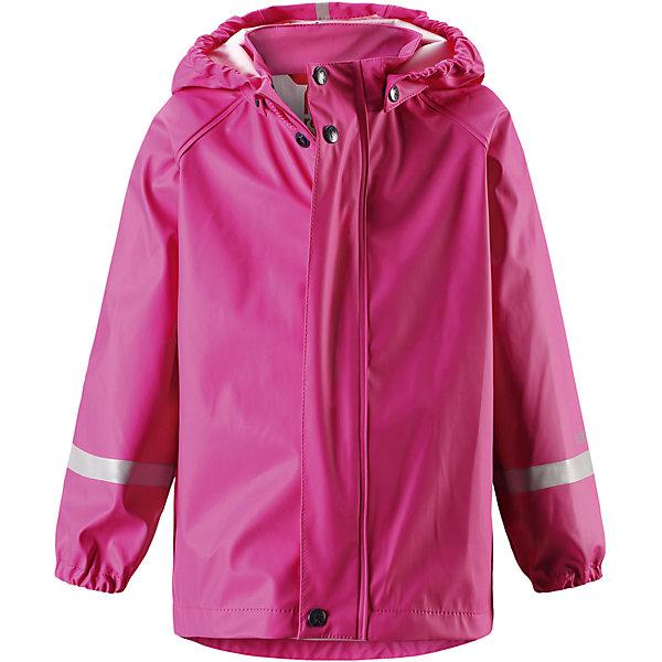 Плащ-дождевик Lampi для девочки ReimaОдежда<br>Характеристики товара:<br><br>• цвет: розовый<br>• состав: 100% полиэстер, полиуретановое покрытие<br>• водонепроницаемость: 10000 мм<br>• температурный режим: от +10° до +20°С<br>• без утеплителя<br>• водонепроницаемый материал с запаянными швами<br>• эластичный материал<br>• не сожержит ПВХ<br>• безопасный съёмный капюшон<br>• спереди застегивается на молнию<br>• светоотражающие детали<br>• эластичные манжеты<br>• комфортная посадка<br>• страна производства: Китай<br>• страна бренда: Финляндия<br>• коллекция: весна-лето 2017<br><br>Верхняя одежда для детей может быть модной и комфортной одновременно! Легкий плащ поможет обеспечить ребенку комфорт и тепло. Он отлично смотрится с различной одеждой и обувью. Изделие удобно сидит и модно выглядит. Материал - прочный, хорошо подходящий для дождливой погоды. Стильный дизайн разрабатывался специально для детей.<br><br>Одежда и обувь от финского бренда Reima пользуется популярностью во многих странах. Эти изделия стильные, качественные и удобные. Для производства продукции используются только безопасные, проверенные материалы и фурнитура. Порадуйте ребенка модными и красивыми вещами от Reima! <br><br>Плащ от финского бренда Reima (Рейма) можно купить в нашем интернет-магазине.<br><br>Ширина мм: 356<br>Глубина мм: 10<br>Высота мм: 245<br>Вес г: 519<br>Цвет: розовый<br>Возраст от месяцев: 36<br>Возраст до месяцев: 48<br>Пол: Женский<br>Возраст: Детский<br>Размер: 104,110,116,122,128,134,140,86,92,98<br>SKU: 5270487
