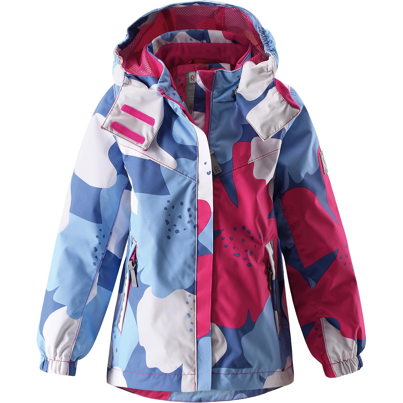 Куртка Tuuli для девочки Reimatec® ReimaХарактеристики товара:<br><br>• цвет: голубой/розовый<br>• состав: 100% полиэстер, полиуретановое покрытие<br>• температурный режим: от +5° до +15°С<br>• водонепроницаемость: 10000 мм<br>• воздухопроницаемость: 5000 мм<br>• износостойкость: 40000 циклов (тест Мартиндейла)<br>• без утеплителя<br>• все швы в нижней части проклеены, водонепроницаемы<br>• водо- и ветронепроницаемый, дышащий, грязеотталкивающий материал<br>• подкладка из mesh-сетки<br>• безопасный съёмный и регулируемый капюшон<br>• эластичные манжеты<br>• регулируемый подол <br>• внутренний нагрудный карман<br>• два кармана на молнии<br>• светоотражающие детали<br>• комфортная посадка<br>• страна производства: Китай<br>• страна бренда: Финляндия<br>• коллекция: весна-лето 2017<br><br>В межсезонье верхняя одежда для детей может быть модной и комфортной одновременно! Демисезонная куртка поможет обеспечить ребенку комфорт и тепло. Она отлично смотрится с различной одеждой и обувью. Изделие удобно сидит и модно выглядит. Материал - прочный, хорошо подходящий для межсезонья, водо- и ветронепроницаемый, «дышащий». Стильный дизайн разрабатывался специально для детей.<br><br>Одежда и обувь от финского бренда Reima пользуется популярностью во многих странах. Эти изделия стильные, качественные и удобные. Для производства продукции используются только безопасные, проверенные материалы и фурнитура. Порадуйте ребенка модными и красивыми вещами от Reima! <br><br>Куртку для девочки Reimatec® от финского бренда Reima (Рейма) можно купить в нашем интернет-магазине.<br><br>Ширина мм: 356<br>Глубина мм: 10<br>Высота мм: 245<br>Вес г: 519<br>Цвет: синий<br>Возраст от месяцев: 84<br>Возраст до месяцев: 96<br>Пол: Женский<br>Возраст: Детский<br>Размер: 128,134,104,140,110,116,122<br>SKU: 5270525