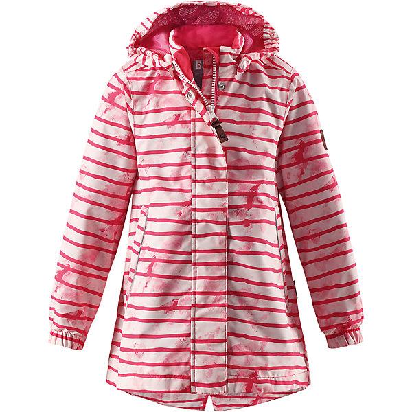 Куртка Kimalle для девочки Reimatec® ReimaОдежда<br>Характеристики товара:<br><br>• цвет: розовый<br>• состав: 100% полиэстер, полиуретановое покрытие<br>• температурный режим: от +5° до +15°С<br>• водонепроницаемость: 5000 мм<br>• воздухопроницаемость: 3000 мм<br>• износостойкость: 15000 циклов (тест Мартиндейла)<br>• без утеплителя<br>• основные швы проклеены, водонепроницаемы<br>• водо- и ветронепроницаемый, дышащий, грязеотталкивающий материал<br>• удлиненная модель<br>• гладкая подкладка из полиэстера<br>• эластичные манжеты<br>• безопасный съёмный капюшон<br>• талия регулируется изнутри<br>• два прорезных кармана<br>• светоотражающие детали<br>• комфортная посадка<br>• страна производства: Китай<br>• страна бренда: Финляндия<br>• коллекция: весна-лето 2017<br><br>В межсезонье верхняя одежда для детей может быть модной и комфортной одновременно! Демисезонная куртка поможет обеспечить ребенку комфорт и тепло. Она отлично смотрится с различной одеждой и обувью. Изделие удобно сидит и модно выглядит. Материал - прочный, хорошо подходящий для межсезонья, водо- и ветронепроницаемый, «дышащий». Стильный дизайн разрабатывался специально для детей.<br><br>Одежда и обувь от финского бренда Reima пользуется популярностью во многих странах. Эти изделия стильные, качественные и удобные. Для производства продукции используются только безопасные, проверенные материалы и фурнитура. Порадуйте ребенка модными и красивыми вещами от Reima! <br><br>Куртку для девочки Reimatec® от финского бренда Reima (Рейма) можно купить в нашем интернет-магазине.<br><br>Ширина мм: 356<br>Глубина мм: 10<br>Высота мм: 245<br>Вес г: 519<br>Цвет: розовый<br>Возраст от месяцев: 36<br>Возраст до месяцев: 48<br>Пол: Женский<br>Возраст: Детский<br>Размер: 104,146,122,152,116,140,134,128,110<br>SKU: 5270623