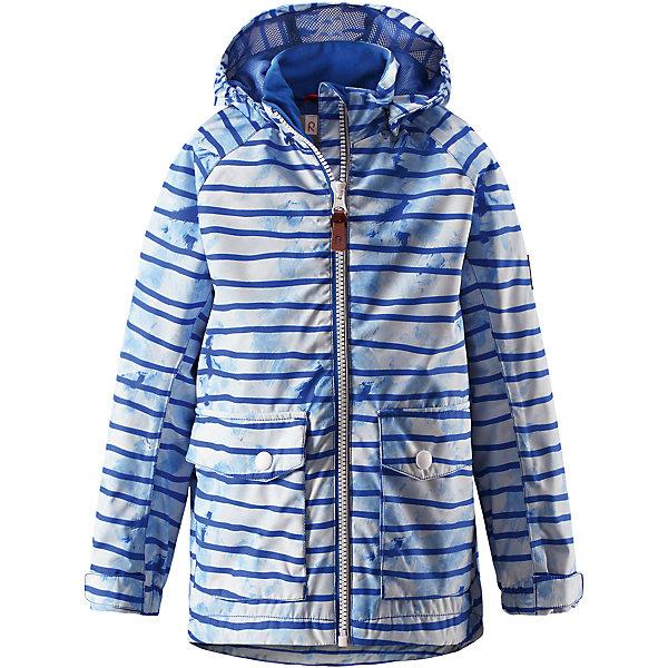 Куртка для мальчика Reimatec® ReimaОдежда<br>Характеристики товара:<br><br>• цвет: голубой<br>• состав: 100% полиэстер, полиуретановое покрытие<br>• температурный режим: от +5° до +15°С<br>• водонепроницаемость: 5000 мм<br>• воздухопроницаемость: 3000 мм<br>• износостойкость: 15000 циклов (тест Мартиндейла)<br>• без утеплителя<br>• основные швы проклеены, водонепроницаемы<br>• водоотталкивающий, ветронепроницаемый, дышащий и водонепроницаемый материал<br>• гладкая подкладка из полиэстера на туловище, подкладка из mesh-сетки на капюшоне<br>• безопасный съёмный капюшон<br>• регулируемые манжеты на застёжке-липучке<br>• регулируемый подол<br>• два кармана с клапанами<br>• светоотражающие детали<br>• комфортная посадка<br>• страна производства: Китай<br>• страна бренда: Финляндия<br>• коллекция: весна-лето 2017<br><br>В межсезонье верхняя одежда для детей может быть модной и комфортной одновременно! Демисезонная куртка поможет обеспечить ребенку комфорт и тепло. Она отлично смотрится с различной одеждой и обувью. Изделие удобно сидит и модно выглядит. Материал - прочный, хорошо подходящий для межсезонья, водо- и ветронепроницаемый, «дышащий». Стильный дизайн разрабатывался специально для детей.<br><br>Одежда и обувь от финского бренда Reima пользуется популярностью во многих странах. Эти изделия стильные, качественные и удобные. Для производства продукции используются только безопасные, проверенные материалы и фурнитура. Порадуйте ребенка модными и красивыми вещами от Reima! <br><br>Куртку для мальчика Reimatec® от финского бренда Reima (Рейма) можно купить в нашем интернет-магазине.<br><br>Ширина мм: 356<br>Глубина мм: 10<br>Высота мм: 245<br>Вес г: 519<br>Цвет: синий<br>Возраст от месяцев: 84<br>Возраст до месяцев: 96<br>Пол: Мужской<br>Возраст: Детский<br>Размер: 128,110,104,98,146,116,122,152,92,140,134<br>SKU: 5270657