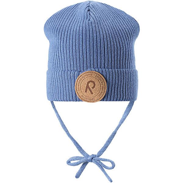 Шапка Meri для мальчика ReimaШапки и шарфы<br>Характеристики товара:<br><br>• цвет: голубой<br>• состав: 100% хлопок<br>• сплошная подкладка из хлопкового трикотажа<br>• температурный режим: от 0С до +10С<br>• эластичный хлопковый трикотаж<br>• изделие сертифицированно по стандарту Oeko-Tex на продукцию класса 1 - одежда для новорождённых<br>• завязки во всех размерах<br>• эмблема Reima спереди<br>• страна бренда: Финляндия<br>• страна производства: Китай<br><br>Детский головной убор может быть модным и удобным одновременно! Стильная шапка поможет обеспечить ребенку комфорт и дополнить наряд.Шапка удобно сидит и аккуратно выглядит. Проста в уходе, долго служит. Стильный дизайн разрабатывался специально для детей. Отличная защита от дождя и ветра!<br><br>Уход:<br><br>• стирать по отдельности, вывернув наизнанку<br>• придать первоначальную форму вo влажном виде<br>• возможна усадка 5 %.<br><br>Шапку для мальчика от финского бренда Reima (Рейма) можно купить в нашем интернет-магазине.<br>Ширина мм: 89; Глубина мм: 117; Высота мм: 44; Вес г: 155; Цвет: синий; Возраст от месяцев: 6; Возраст до месяцев: 9; Пол: Мужской; Возраст: Детский; Размер: 46,52,50,48; SKU: 5270859;
