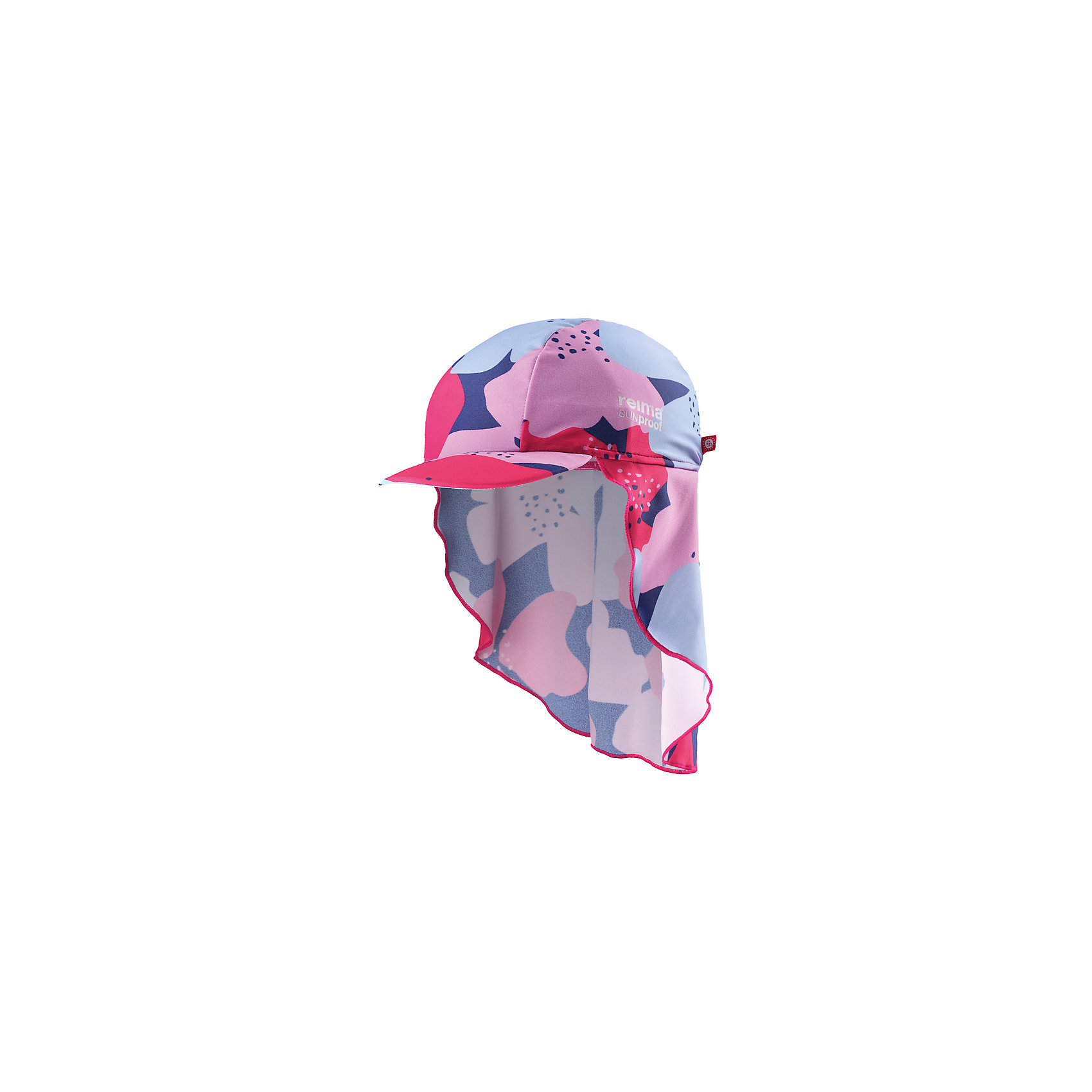 Панама Vesikko для девочки ReimaШапки и шарфы<br>Характеристики товара:<br><br>• цвет: мультиколор<br>• состав: 80% полиамид, 20% эластан<br>• задняя часть удлиненная<br>• фактор защиты от ультрафиолета: 50+<br>• удобный эластичный материал<br>• стильный защитный козырек<br>• защищает от солнца<br>• облегчённая модель без подкладки<br>• эмблема Reima сбоку<br>• страна бренда: Финляндия<br>• страна производства: Китай<br><br>Детский головной убор может быть модным и удобным одновременно! Стильная панама поможет обеспечить ребенку комфорт и дополнить наряд. Панама удобно сидит и аккуратно выглядит. Проста в уходе, долго служит. Стильный дизайн разрабатывался специально для детей. Отличная защита от солнца!<br><br>Уход:<br><br>• стирать по отдельности, вывернув наизнанку<br>• полоскать без специального средства<br>• сушить при низкой температуре.<br><br>Панаму от финского бренда Reima (Рейма) можно купить в нашем интернет-магазине.<br><br>Ширина мм: 89<br>Глубина мм: 117<br>Высота мм: 44<br>Вес г: 155<br>Цвет: розовый<br>Возраст от месяцев: 48<br>Возраст до месяцев: 84<br>Пол: Женский<br>Возраст: Детский<br>Размер: 54,46,50<br>SKU: 5270878