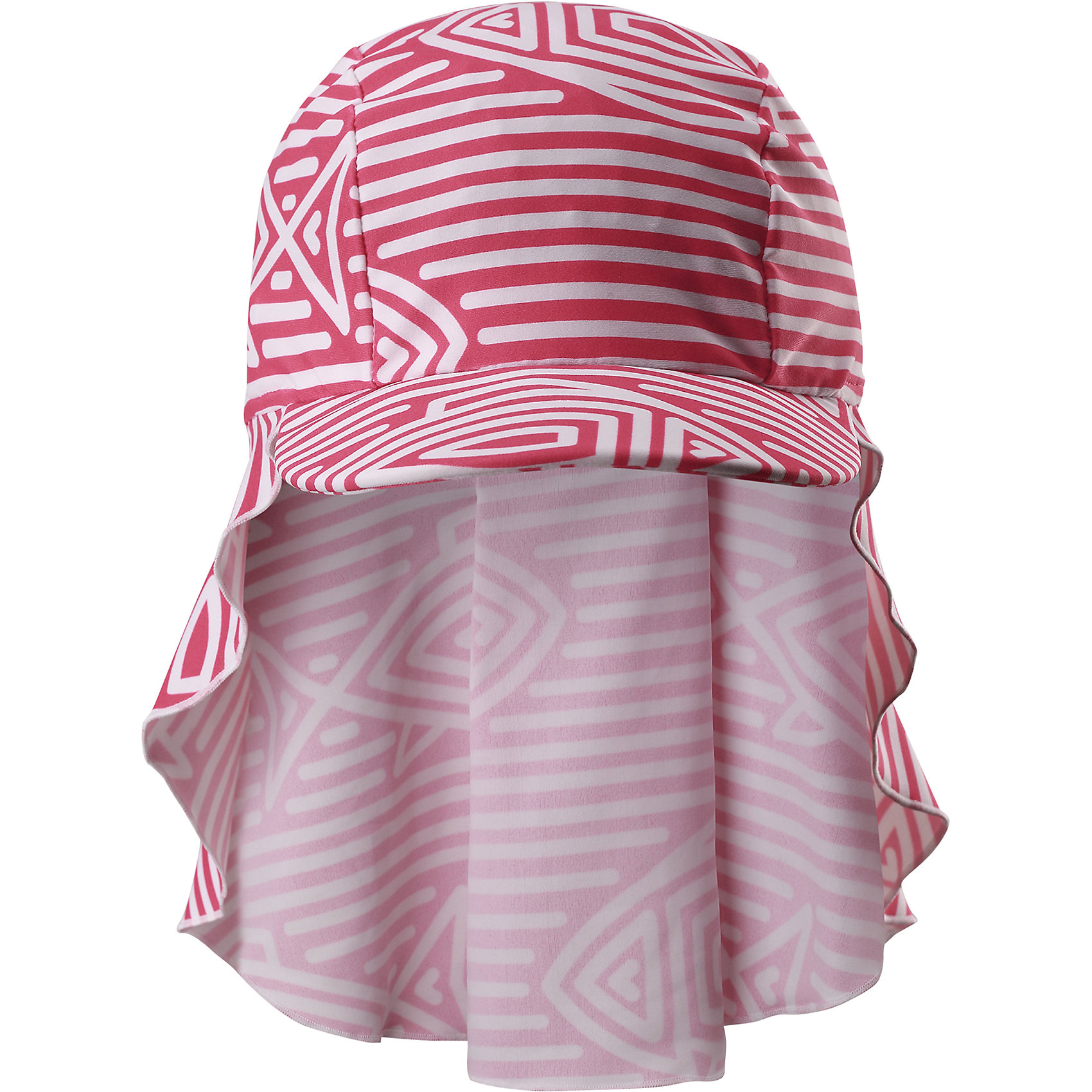 Панама Vesikko для девочки ReimaШапки и шарфы<br>Характеристики товара:<br><br>• цвет: красный/белый<br>• состав: 80% полиамид, 20% эластан<br>• задняя часть удлиненная<br>• фактор защиты от ультрафиолета: 50+<br>• удобный эластичный материал<br>• стильный защитный козырек<br>• защищает от солнца<br>• облегчённая модель без подкладки<br>• эмблема Reima сбоку<br>• страна бренда: Финляндия<br>• страна производства: Китай<br><br>Детский головной убор может быть модным и удобным одновременно! Стильная панама поможет обеспечить ребенку комфорт и дополнить наряд. Панама удобно сидит и аккуратно выглядит. Проста в уходе, долго служит. Стильный дизайн разрабатывался специально для детей. Отличная защита от солнца!<br><br>Уход:<br><br>• стирать по отдельности, вывернув наизнанку<br>• полоскать без специального средства<br>• сушить при низкой температуре.<br><br>Панаму от финского бренда Reima (Рейма) можно купить в нашем интернет-магазине.<br><br>Ширина мм: 89<br>Глубина мм: 117<br>Высота мм: 44<br>Вес г: 155<br>Цвет: розовый<br>Возраст от месяцев: 18<br>Возраст до месяцев: 36<br>Пол: Женский<br>Возраст: Детский<br>Размер: 50,54,46<br>SKU: 5270882