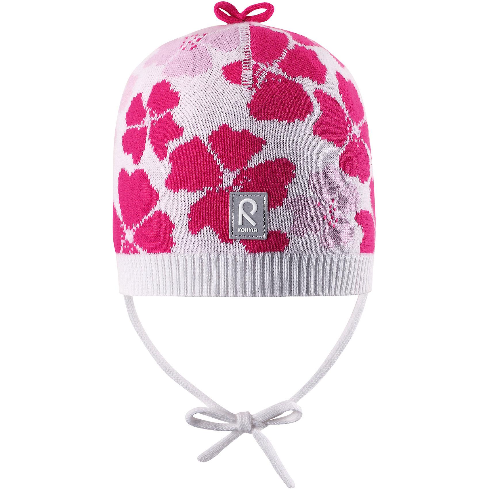 Шапка Brisky для девочки ReimaШапки и шарфы<br>Характеристики товара:<br><br>• цвет: белый<br>• состав: 100% хлопок<br>• облегчённая модель без подкладки<br>• температурный режим: от +10С<br>• эластичный хлопковый трикотаж<br>• изделие сертифицированно по стандарту Oeko-Tex на продукцию класса 1 - одежда для новорождённых<br>• завязки во всех размерах<br>• эмблема Reima сзади<br>• сплошная жаккардовая узорная вязка<br>• декоративная отделка сверху<br>• страна бренда: Финляндия<br>• страна производства: Китай<br><br>Детский головной убор может быть модным и удобным одновременно! Стильная шапка поможет обеспечить ребенку комфорт и дополнить наряд.Шапка удобно сидит и аккуратно выглядит. Проста в уходе, долго служит. Стильный дизайн разрабатывался специально для детей. Отличная защита от дождя и ветра!<br><br>Уход:<br><br>• стирать по отдельности, вывернув наизнанку<br>• придать первоначальную форму вo влажном виде<br>• возможна усадка 5 %.<br><br>Шапку для девочки от финского бренда Reima (Рейма) можно купить в нашем интернет-магазине.<br><br>Ширина мм: 89<br>Глубина мм: 117<br>Высота мм: 44<br>Вес г: 155<br>Цвет: белый<br>Возраст от месяцев: 6<br>Возраст до месяцев: 9<br>Пол: Женский<br>Возраст: Детский<br>Размер: 46,52,50,48<br>SKU: 5270961