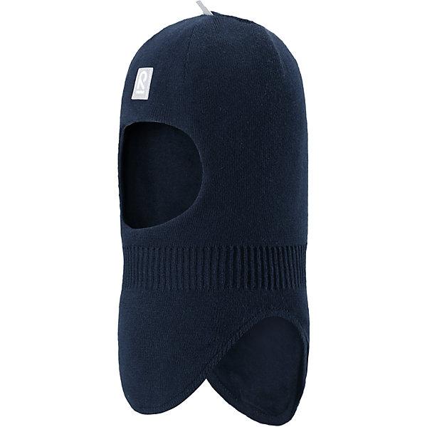 Шапка-шлем Ades для мальчика ReimaШапки и шарфы<br>Характеристики товара:<br><br>• цвет: тёмно-синий<br>• состав: 100% хлопок<br>• сплошная подкладка из хлопкового трикотажа<br>• температурный режим: от -5С до +10С<br>• эластичный хлопковый трикотаж<br>• изделие сертифицированно по стандарту Oeko-Tex на продукцию класса 1 - одежда для новорождённых<br>• эмблема Reima спереди<br>• светоотражающие детали<br>• страна бренда: Финляндия<br>• страна производства: Китай<br><br>Детский головной убор может быть модным и удобным одновременно. Стильная шапка-шлем поможет обеспечить ребенку комфорт и дополнить наряд. Шапка удобно сидит и аккуратно выглядит. Проста в уходе, долго служит. Стильный дизайн разрабатывался специально для детей. Отличная защита от дождя и ветра!<br><br>Уход:<br><br>• стирать по отдельности, вывернув наизнанку<br>• придать первоначальную форму вo влажном виде<br>• возможна усадка 5 %.<br><br>Шапку-шлем от финского бренда Reima (Рейма) можно купить в нашем интернет-магазине.<br><br>Ширина мм: 89<br>Глубина мм: 117<br>Высота мм: 44<br>Вес г: 155<br>Цвет: синий<br>Возраст от месяцев: 6<br>Возраст до месяцев: 9<br>Пол: Мужской<br>Возраст: Детский<br>Размер: 46,50,52,48<br>SKU: 5271055
