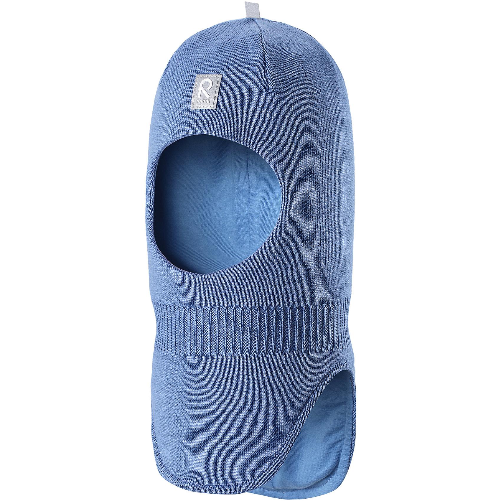 Шапка-шлем Ades ReimaШапки и шарфы<br>Характеристики товара:<br><br>• цвет: голубой<br>• состав: 100% хлопок<br>• сплошная подкладка из хлопкового трикотажа<br>• температурный режим: от -5С до +10С<br>• эластичный хлопковый трикотаж<br>• изделие сертифицированно по стандарту Oeko-Tex на продукцию класса 1 - одежда для новорождённых<br>• эмблема Reima спереди<br>• светоотражающие детали<br>• страна бренда: Финляндия<br>• страна производства: Китай<br><br>Детский головной убор может быть модным и удобным одновременно. Стильная шапка-шлем поможет обеспечить ребенку комфорт и дополнить наряд. Шапка удобно сидит и аккуратно выглядит. Проста в уходе, долго служит. Стильный дизайн разрабатывался специально для детей. Отличная защита от дождя и ветра!<br><br>Уход:<br><br>• стирать по отдельности, вывернув наизнанку<br>• придать первоначальную форму вo влажном виде<br>• возможна усадка 5 %.<br><br>Шапку-шлем от финского бренда Reima (Рейма) можно купить в нашем интернет-магазине.<br><br>Ширина мм: 89<br>Глубина мм: 117<br>Высота мм: 44<br>Вес г: 155<br>Цвет: синий<br>Возраст от месяцев: 6<br>Возраст до месяцев: 9<br>Пол: Унисекс<br>Возраст: Детский<br>Размер: 46,52,48,50<br>SKU: 5271060