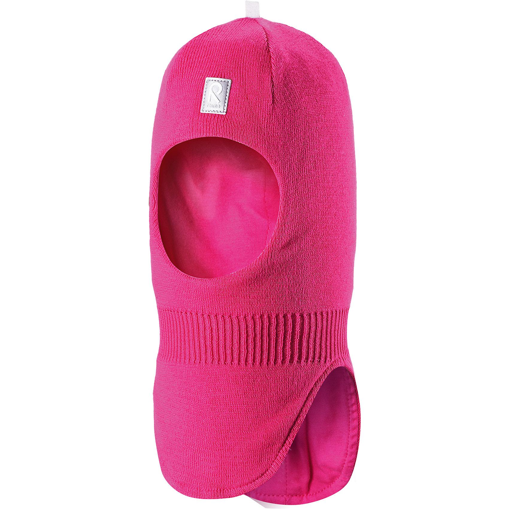 Шапка-шлем Ades для девочки ReimaШапки и шарфы<br>Характеристики товара:<br><br>• цвет: фуксия<br>• состав: 100% хлопок<br>• сплошная подкладка из хлопкового трикотажа<br>• температурный режим: от -5С до +10С<br>• эластичный хлопковый трикотаж<br>• изделие сертифицированно по стандарту Oeko-Tex на продукцию класса 1 - одежда для новорождённых<br>• эмблема Reima спереди<br>• светоотражающие детали<br>• страна бренда: Финляндия<br>• страна производства: Китай<br><br>Детский головной убор может быть модным и удобным одновременно. Стильная шапка-шлем поможет обеспечить ребенку комфорт и дополнить наряд. Шапка удобно сидит и аккуратно выглядит. Проста в уходе, долго служит. Стильный дизайн разрабатывался специально для детей. Отличная защита от дождя и ветра!<br><br>Уход:<br><br>• стирать по отдельности, вывернув наизнанку<br>• придать первоначальную форму вo влажном виде<br>• возможна усадка 5 %.<br><br>Шапку-шлем от финского бренда Reima (Рейма) можно купить в нашем интернет-магазине.<br><br>Ширина мм: 89<br>Глубина мм: 117<br>Высота мм: 44<br>Вес г: 155<br>Цвет: розовый<br>Возраст от месяцев: 6<br>Возраст до месяцев: 9<br>Пол: Женский<br>Возраст: Детский<br>Размер: 46,52,50,48<br>SKU: 5271070