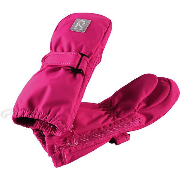 Варежки Poimii для девочки ReimaПерчатки, варежки<br>Характеристики товара:<br><br>• цвет: розовый<br>• состав: 100% полиэстер, полиуретановое покрытие<br>• температурный режим: от 0° до +10°С<br>• водонепроницаемость: 15000 мм<br>• воздухопроницаемость: 5000 мм<br>• износостойкость: 40000 циклов (тест Мартиндейла)<br>• без утеплителя<br>• водонепроницаемый материал без вставки - изделие не является водонепроницаемым<br>• износостойкий материал<br>• ветронепроницаемый, водо- и грязеотталкивающий материал<br>• трикотажная подкладка из полиэстера с начесом<br>• примечание: из-за наличия молнии изделие не является водонепроницаемым<br>• застёжка-липучка спереди, регулирует объем<br>• можно сушить в сушильном шкафу<br>• молния облегчает надевание<br>• эмблема Reima спереди<br>• светоотражающая эмблема спереди<br>• страна производства: Китай<br>• страна бренда: Финляндия<br>• коллекция: весна-лето 2017<br><br>Reima представляет новые варежки для детей. Они помогут обеспечить ребенку комфорт и дополнить наряд. Варежки отлично смотрятся с различной одеждой. Изделия удобно сидят и модно выглядят, в их основе - водо- и ветронепроницаемый грязеотталкивающий материал. Просты в уходе, долго служат. Стильный дизайн разрабатывался специально для детей.<br><br>Одежда и обувь от финского бренда Reima пользуется популярностью во многих странах. Эти изделия стильные, качественные и удобные. Для производства продукции используются только безопасные, проверенные материалы и фурнитура. Порадуйте ребенка модными и красивыми вещами от Reima! <br><br>Варежки для мальчика от финского бренда Reima (Рейма) можно купить в нашем интернет-магазине.<br><br>Ширина мм: 162<br>Глубина мм: 171<br>Высота мм: 55<br>Вес г: 119<br>Цвет: розовый<br>Возраст от месяцев: 6<br>Возраст до месяцев: 18<br>Пол: Женский<br>Возраст: Детский<br>Размер: 1,2,0<br>SKU: 5271148
